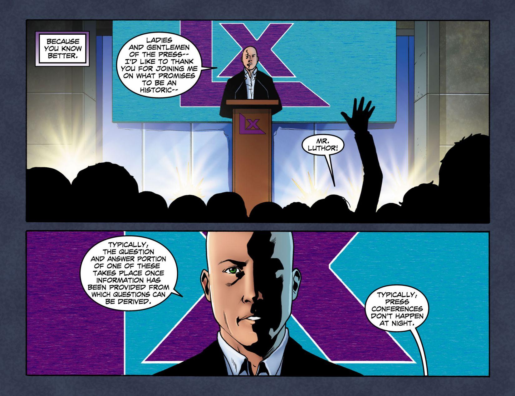 Read online Smallville: Season 11 comic -  Issue #4 - 15