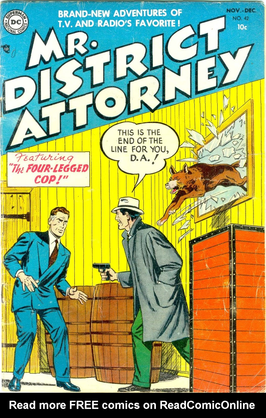 Mr. District Attorney issue 42 - Page 1