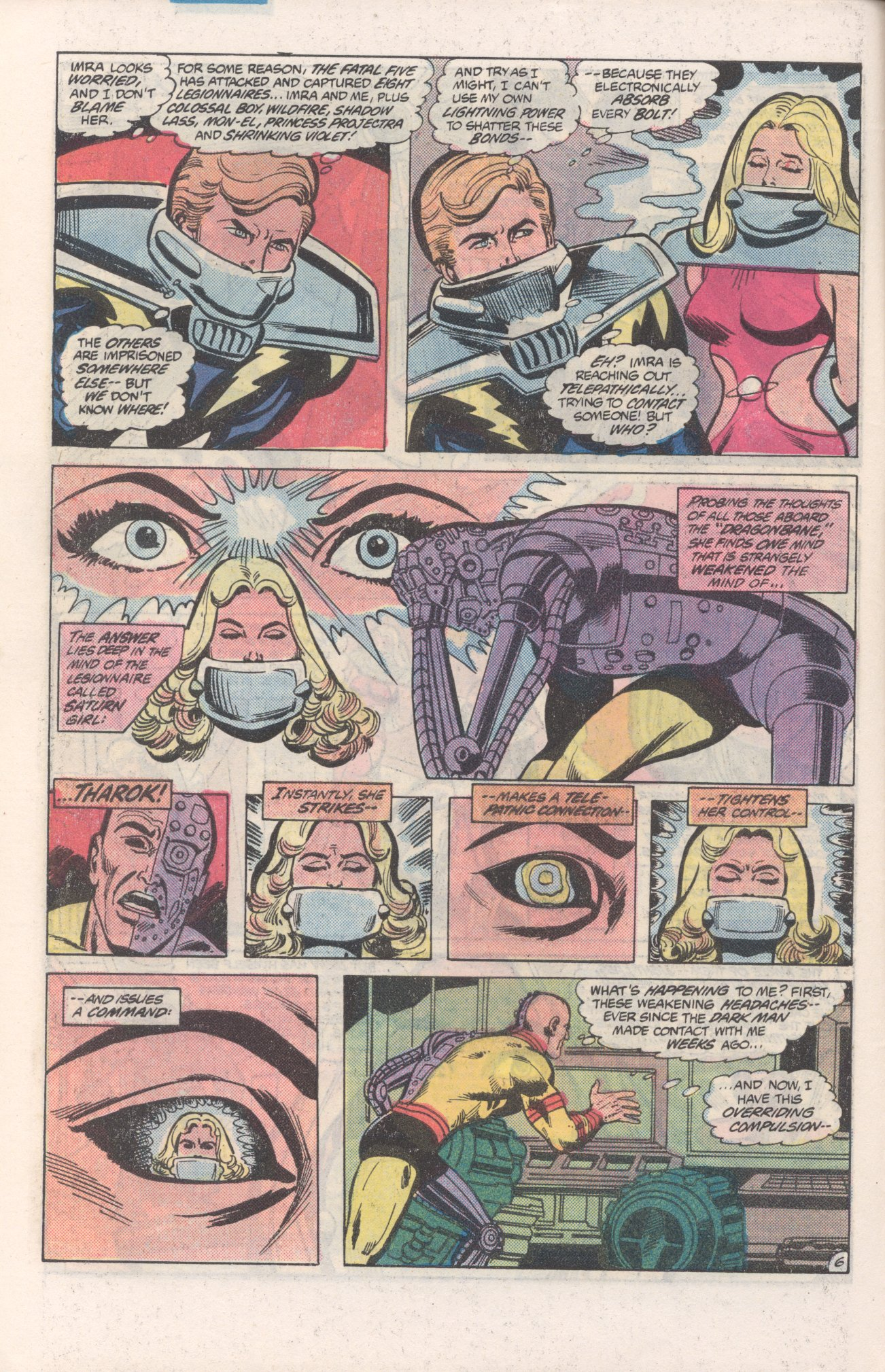 Legion of Super-Heroes (1980) 271 Page 6
