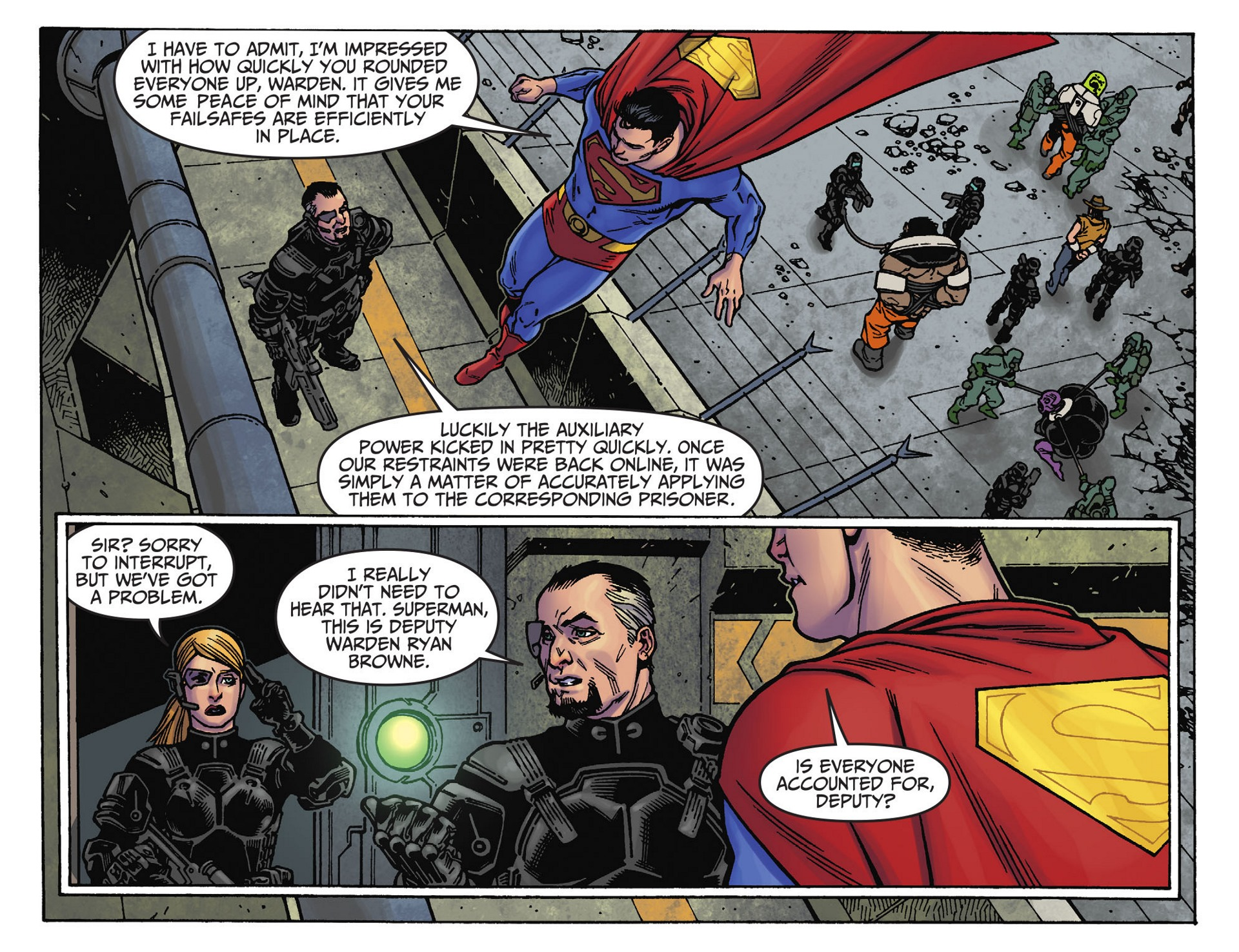 Read online Adventures of Superman [I] comic -  Issue #39 - 7