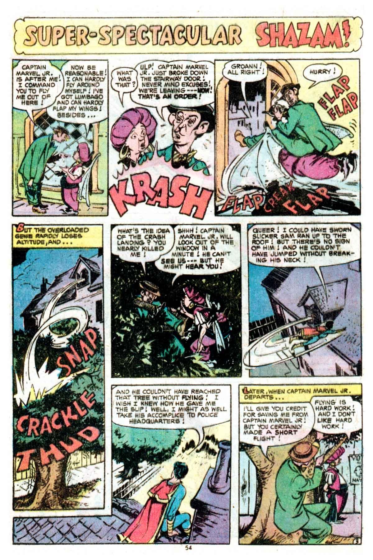 Read online Shazam! (1973) comic -  Issue #16 - 54