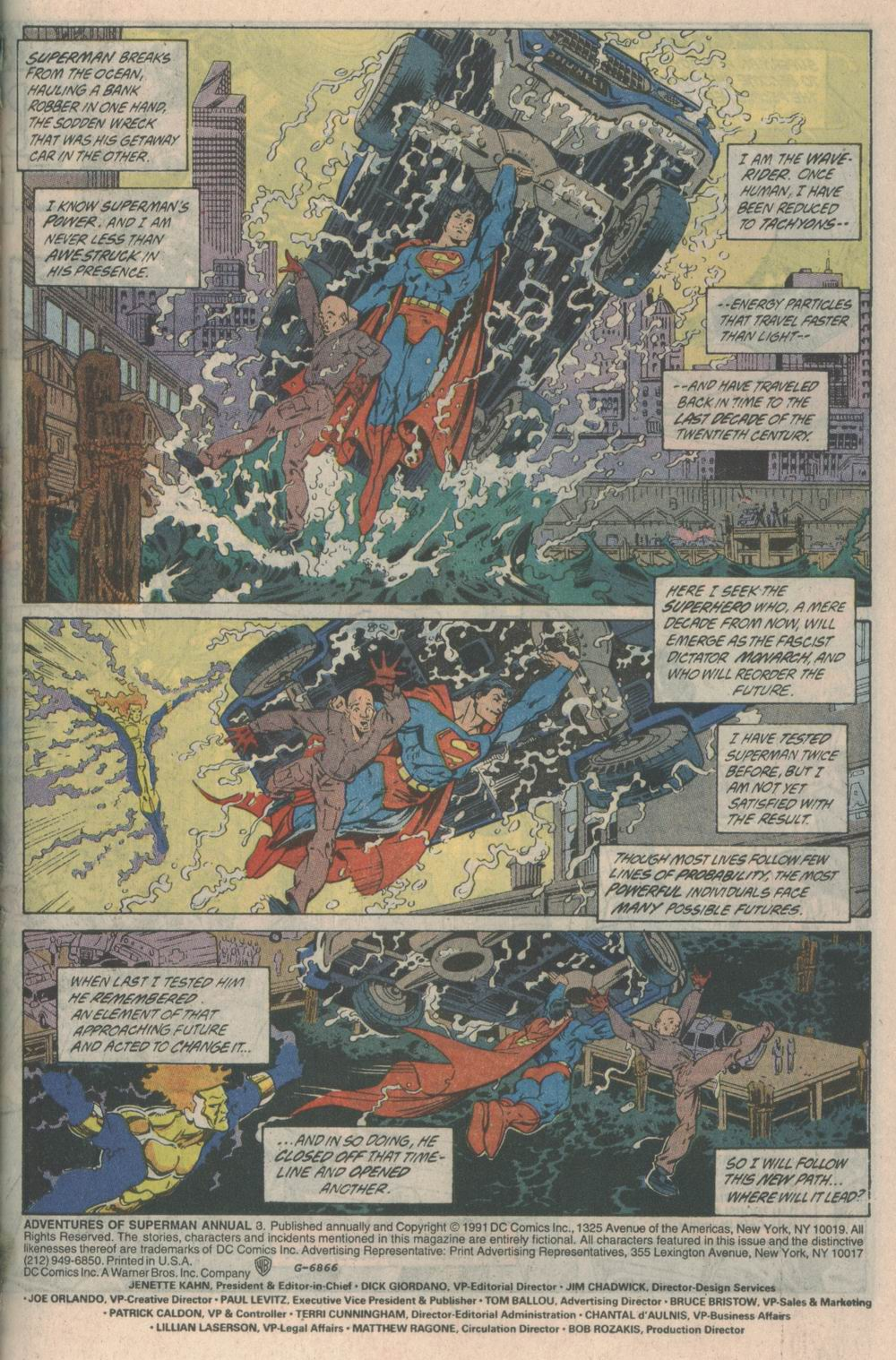 Adventures of Superman (1987) issue _Annual_3 - Page 2