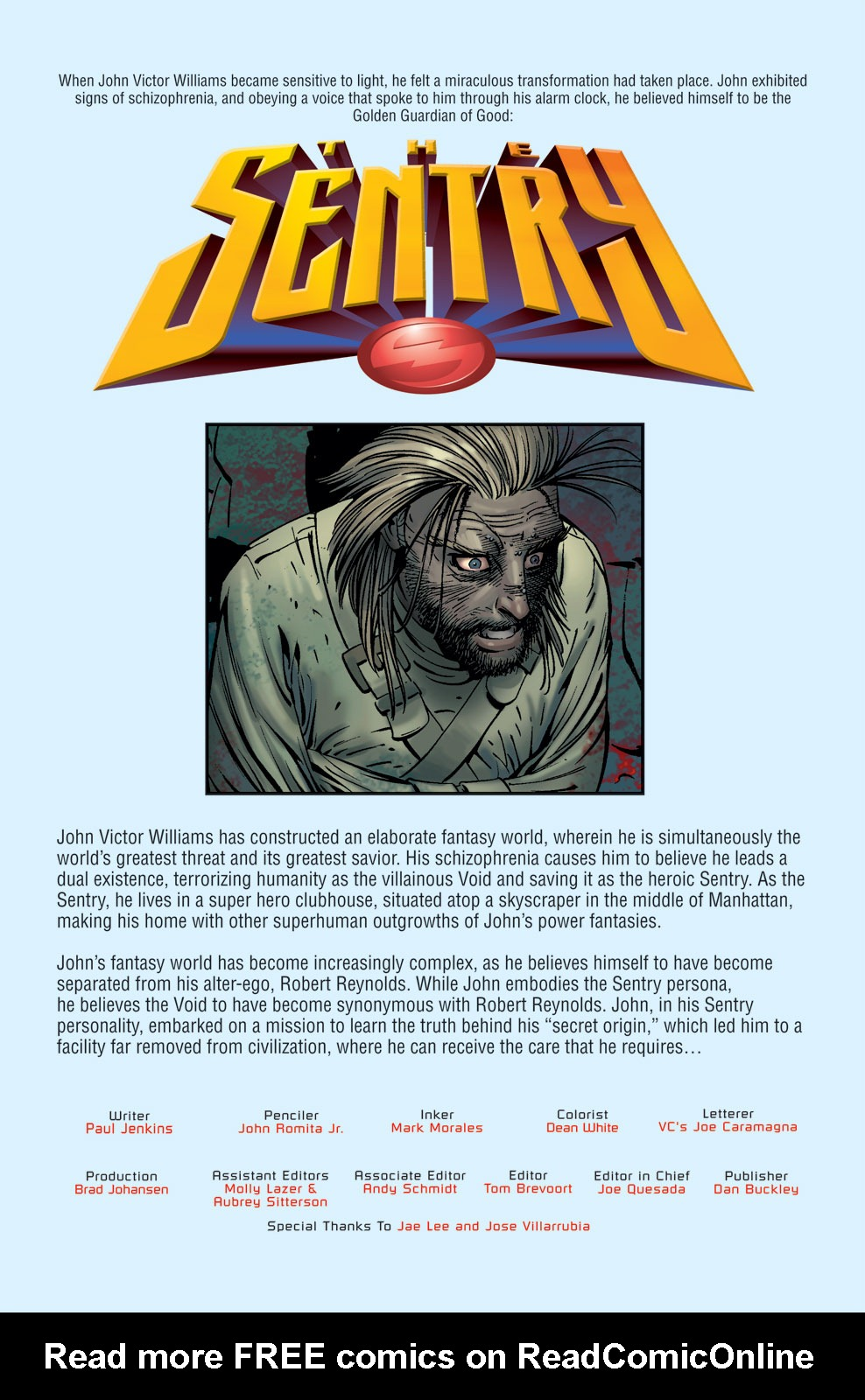 Read online Sentry (2006) comic -  Issue #7 - 6