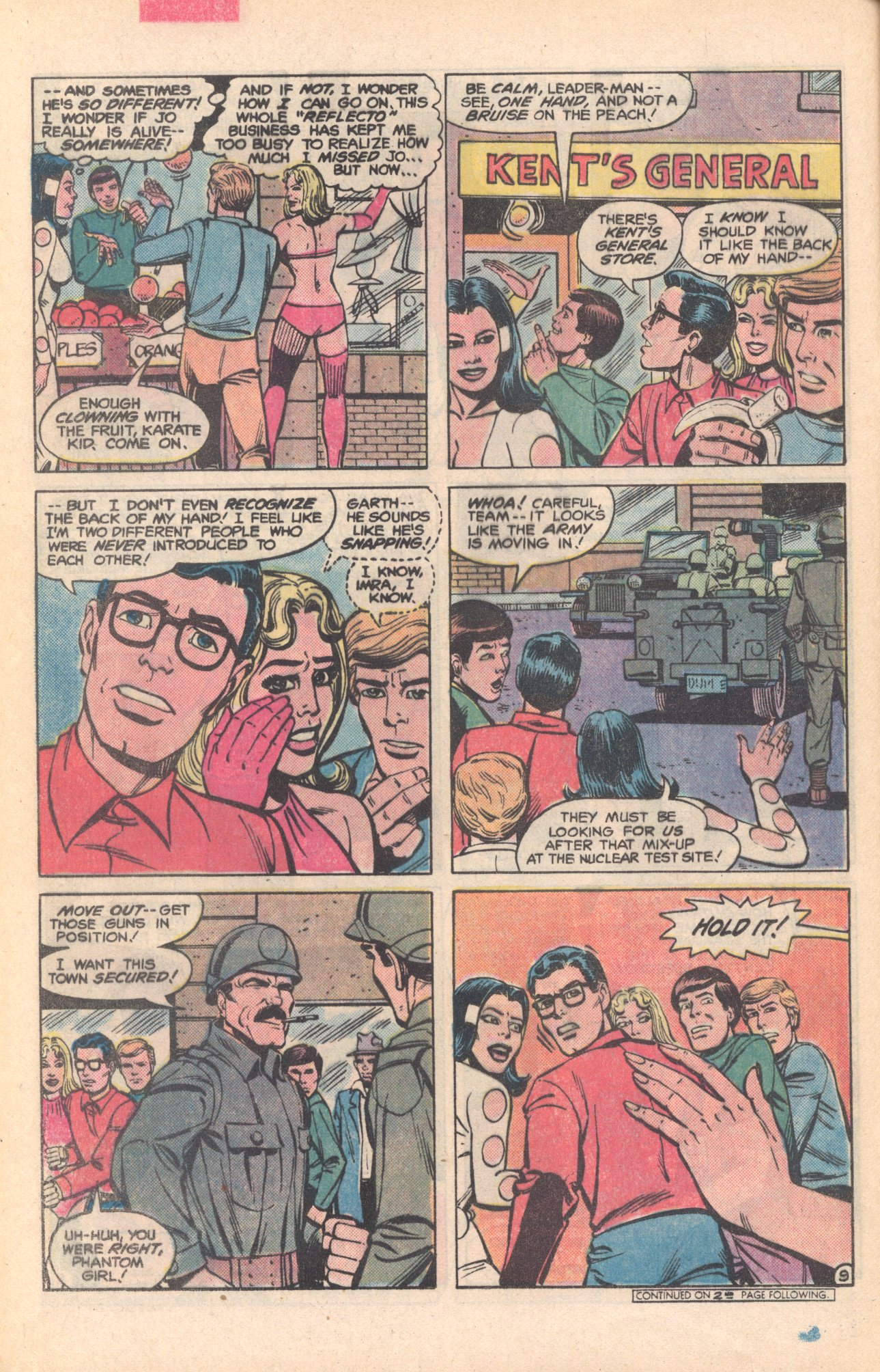 Legion of Super-Heroes (1980) 281 Page 9