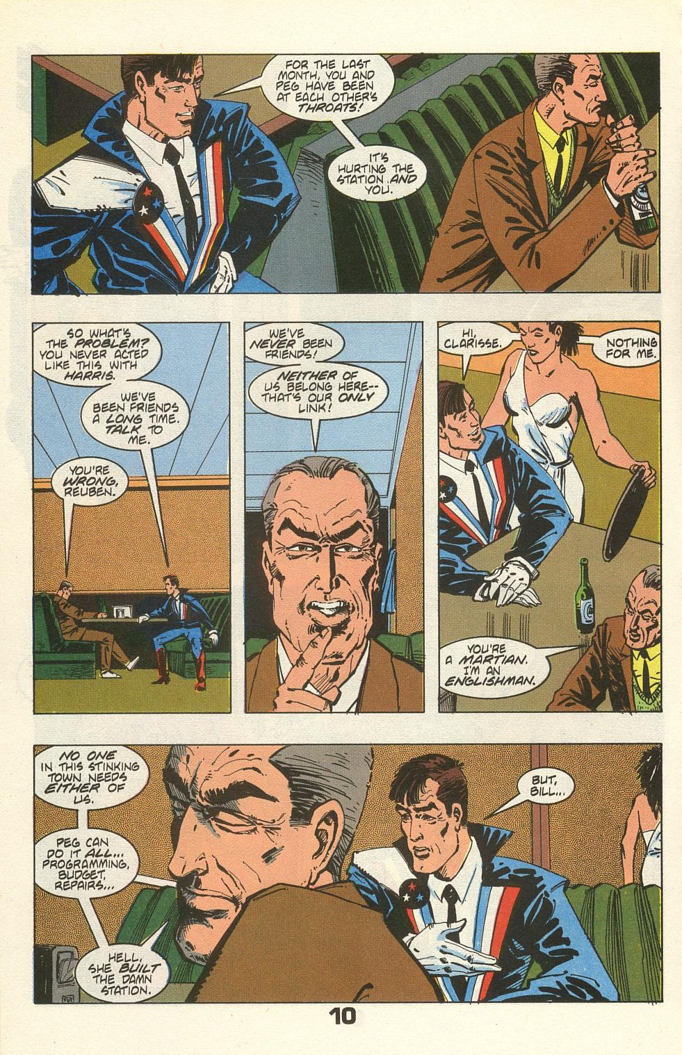 Read online American Flagg! comic -  Issue #35 - 14