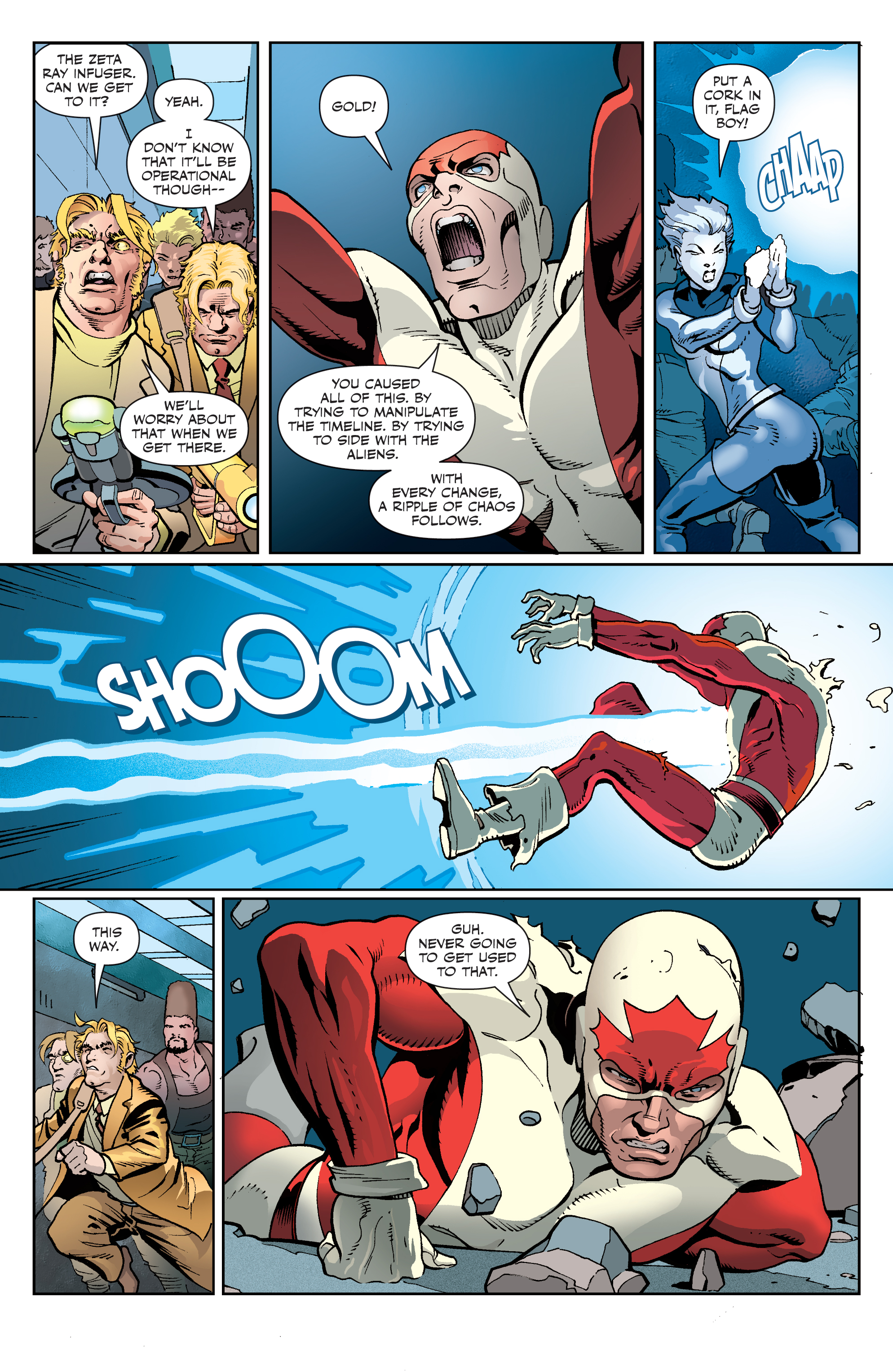 Read online All-New Classic Captain Canuck comic -  Issue #4 - 9