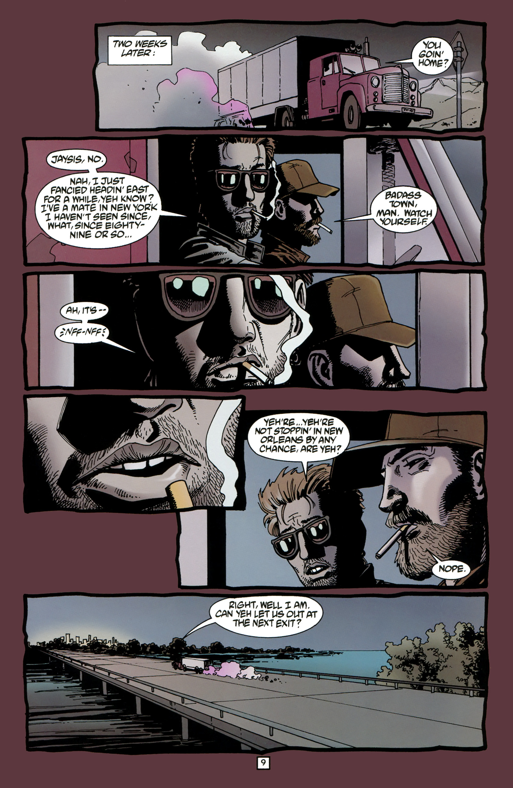 Read online Preacher Special: Cassidy : Blood and Whiskey comic -  Issue # Full - 11