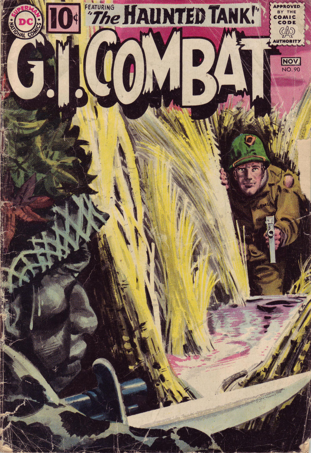 G.I. Combat (1952) issue 90 - Page 1