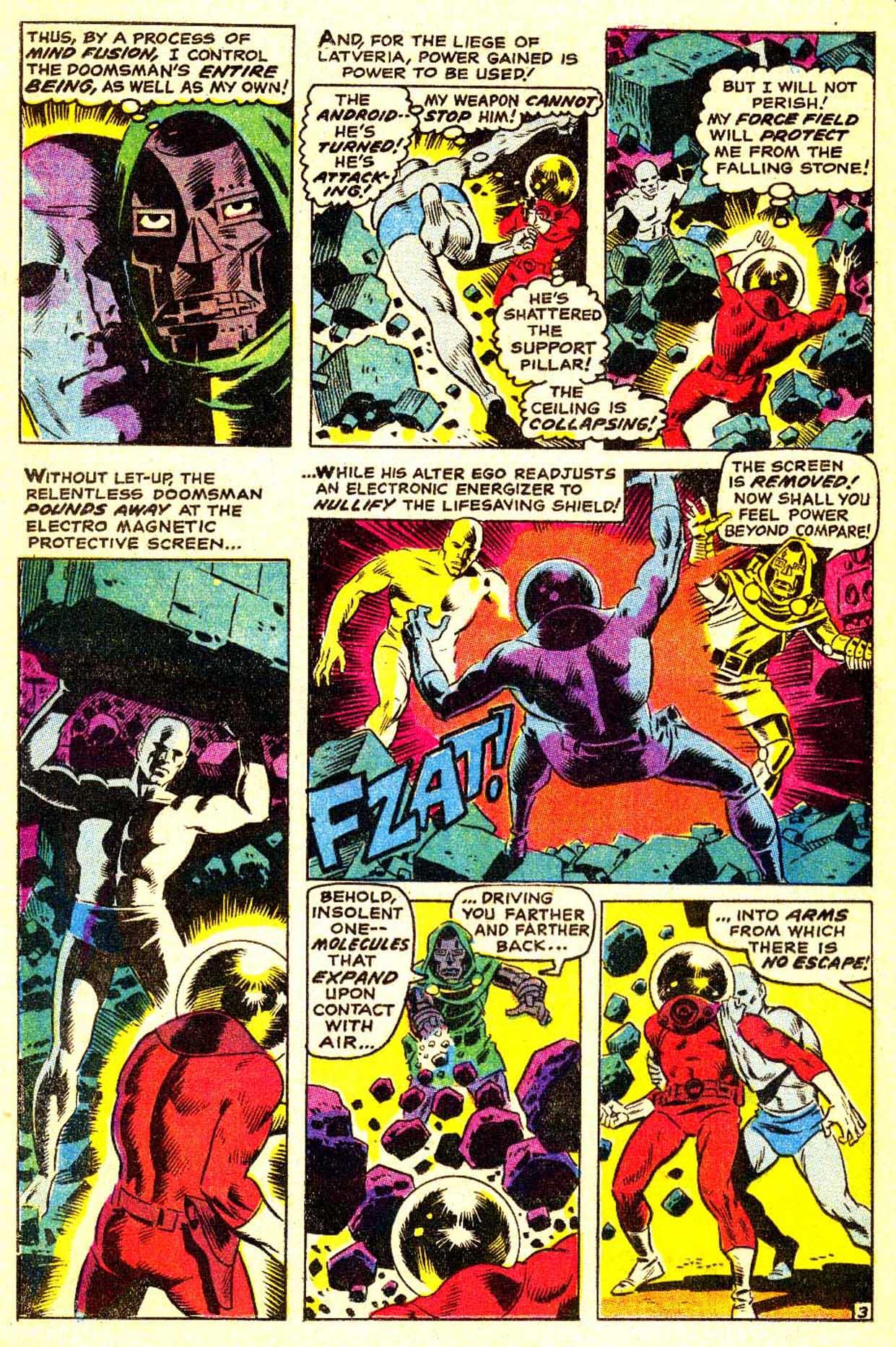 Read online Astonishing Tales (1970) comic -  Issue #3 - 4