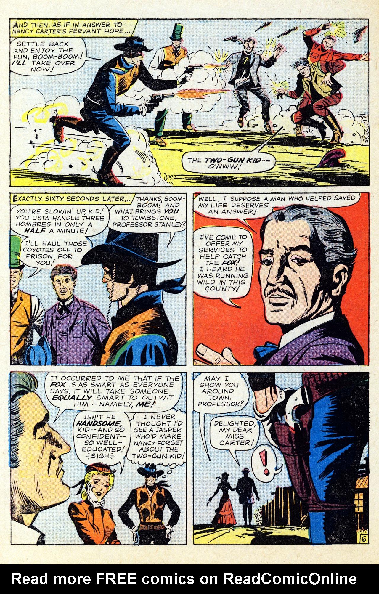 Read online Two-Gun Kid comic -  Issue #67 - 10