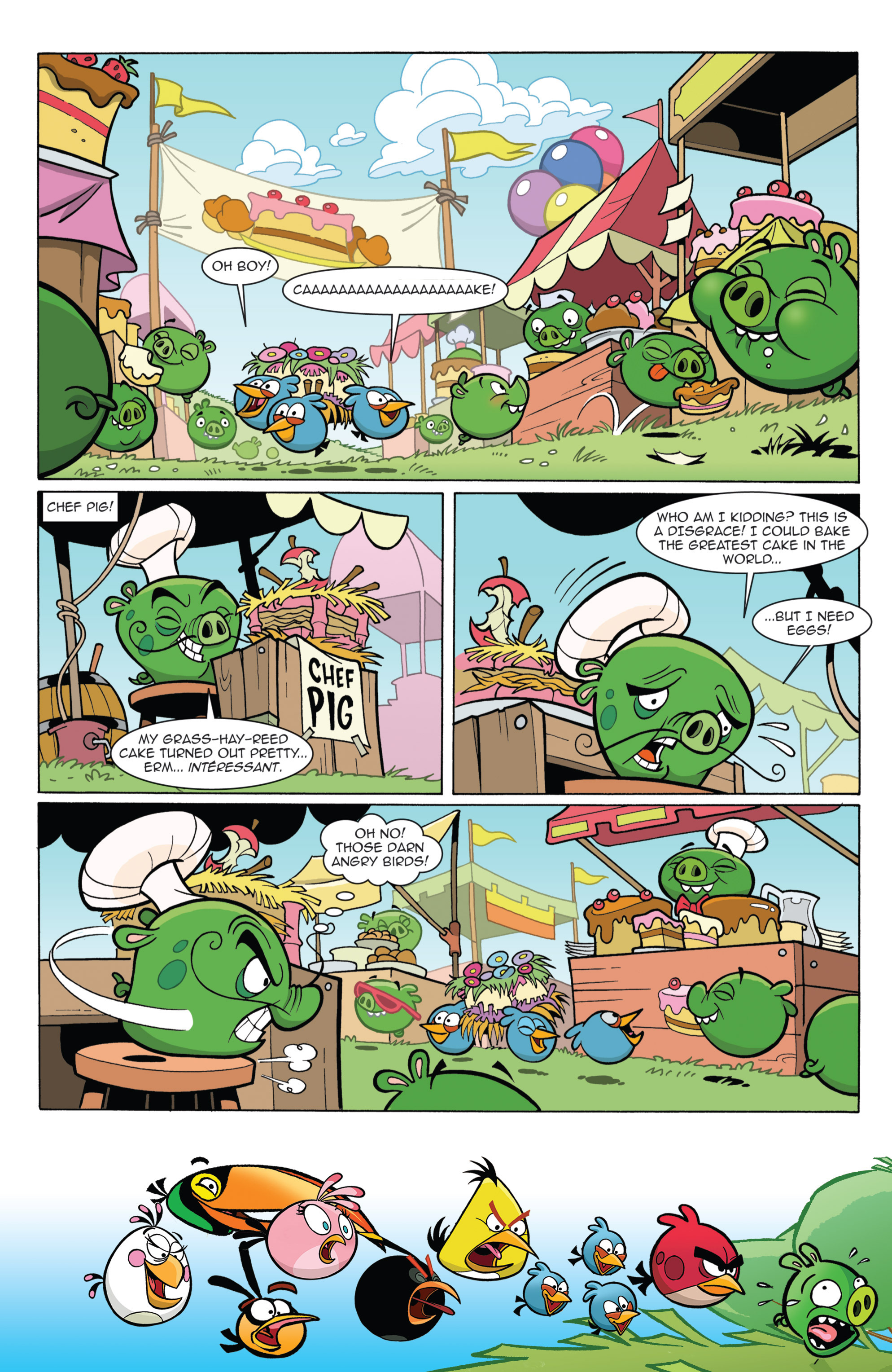 Read online Angry Birds Comics (2014) comic -  Issue #11 - 17