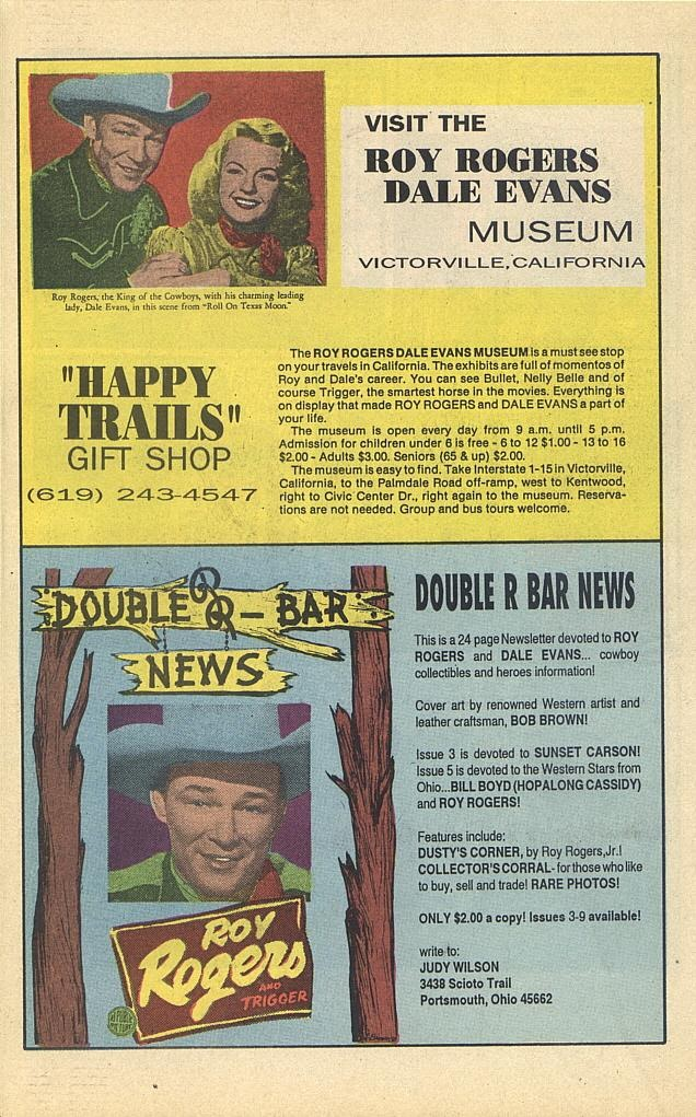 Read online Roy Rogers comic -  Issue #4 - 34