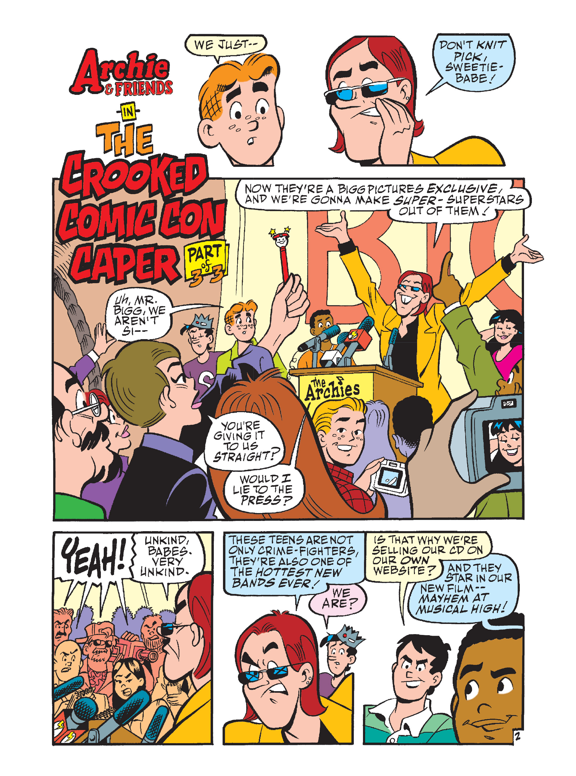 Read online Archie's Funhouse Double Digest comic -  Issue #7 - 37