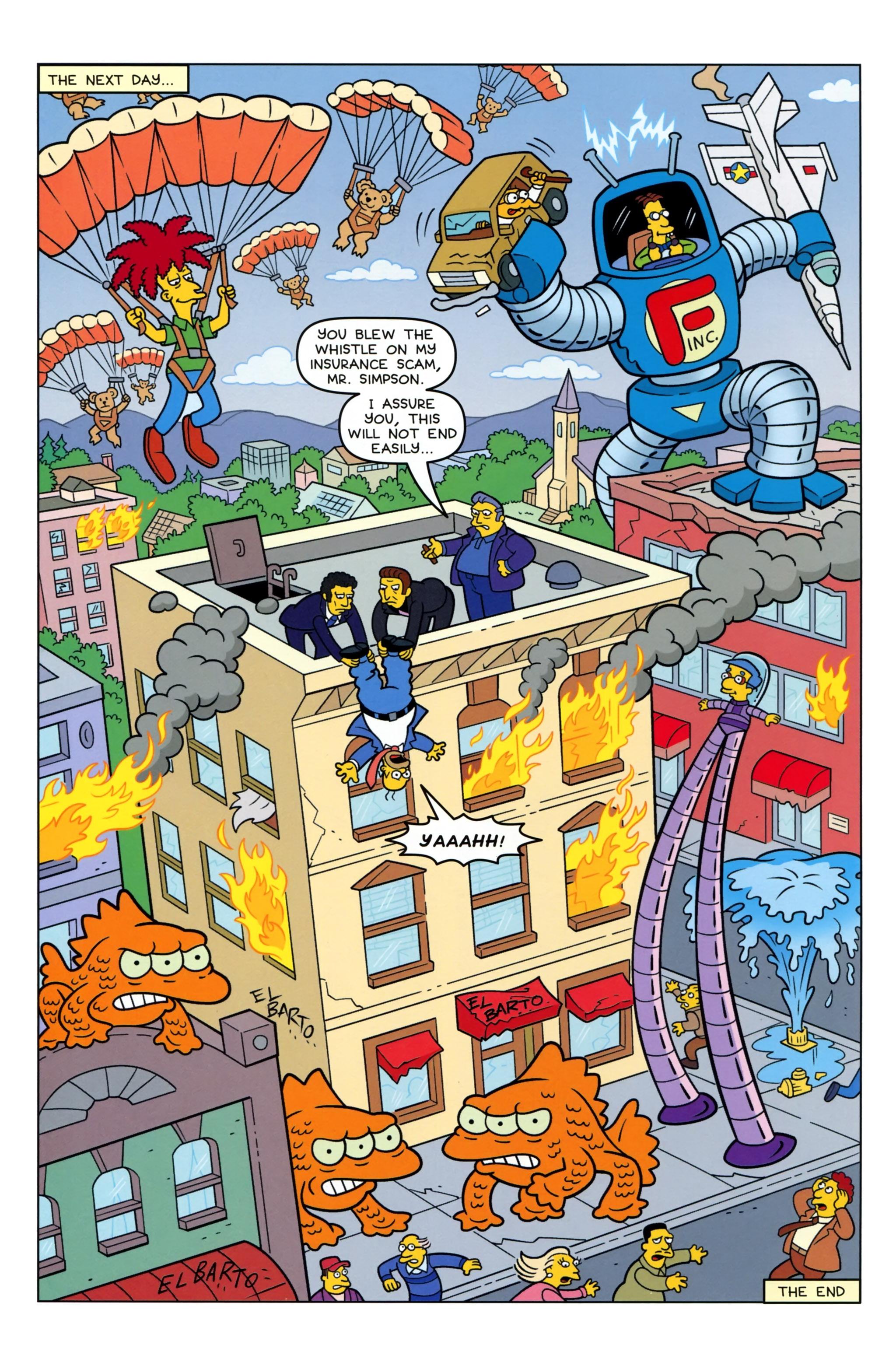 Read online Simpsons Comics comic -  Issue #223 - 26