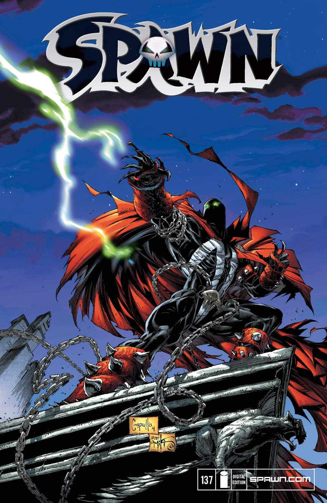 Spawn 137 Page 1