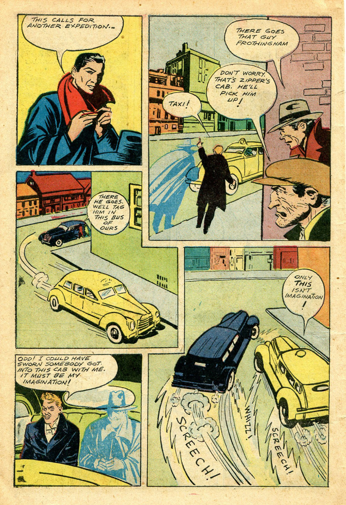 Read online Shadow Comics comic -  Issue #44 - 9