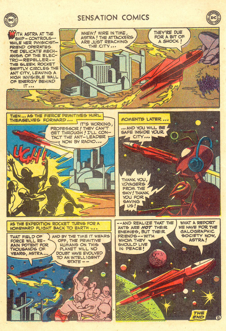 Read online Sensation (Mystery) Comics comic -  Issue #105 - 34
