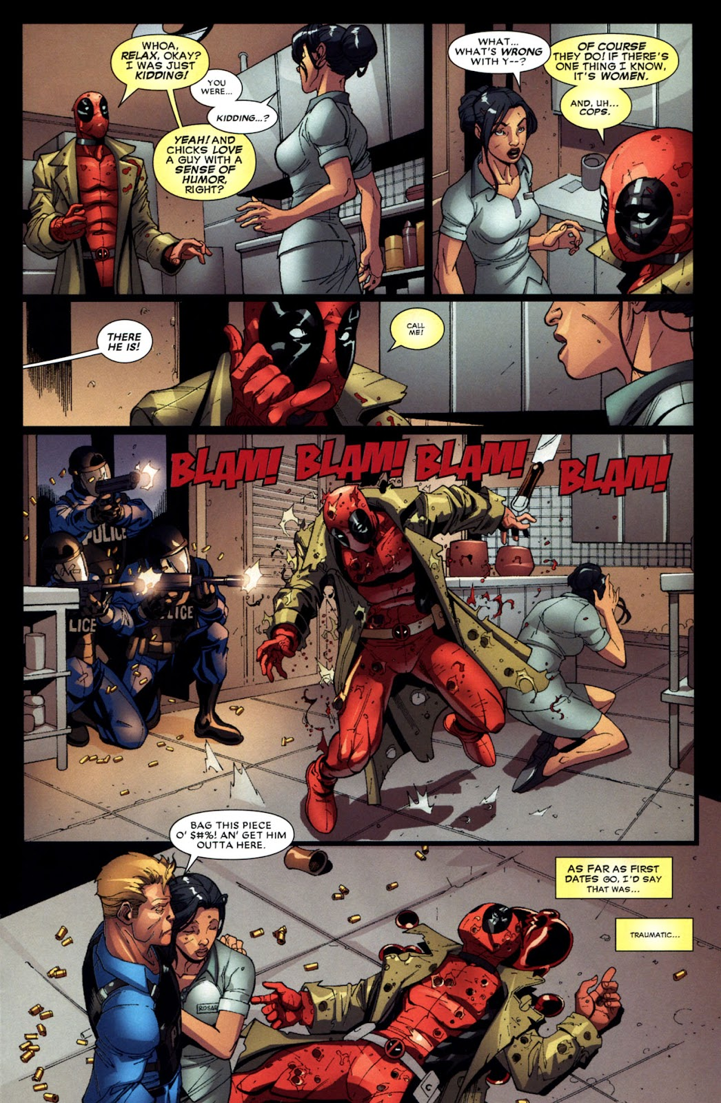 Read online Deadpool (2008) comic -  Issue #6 - 20