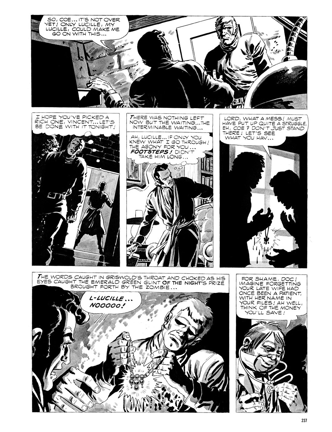 Read online Eerie Archives comic -  Issue # TPB 1 - 238