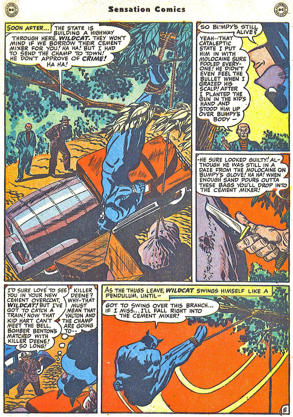 Read online Sensation (Mystery) Comics comic -  Issue #79 - 47