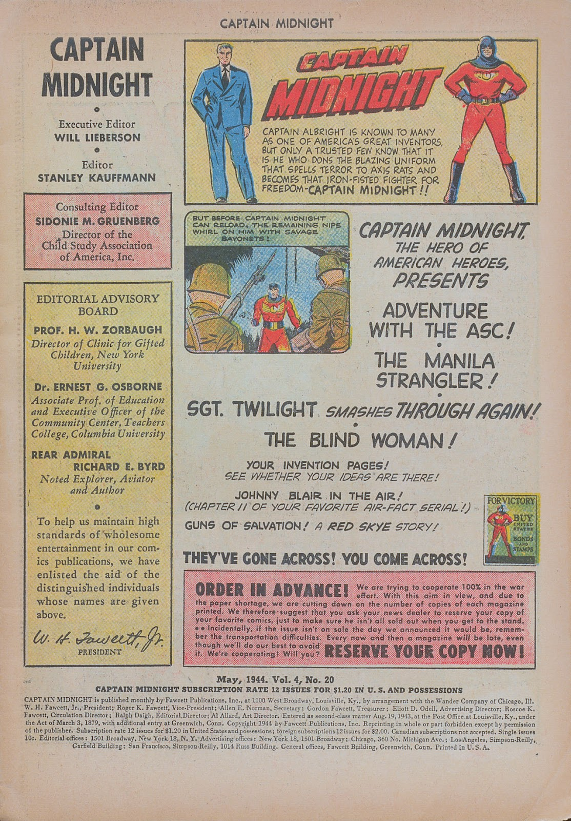 Captain Midnight (1942) issue 20 - Page 3