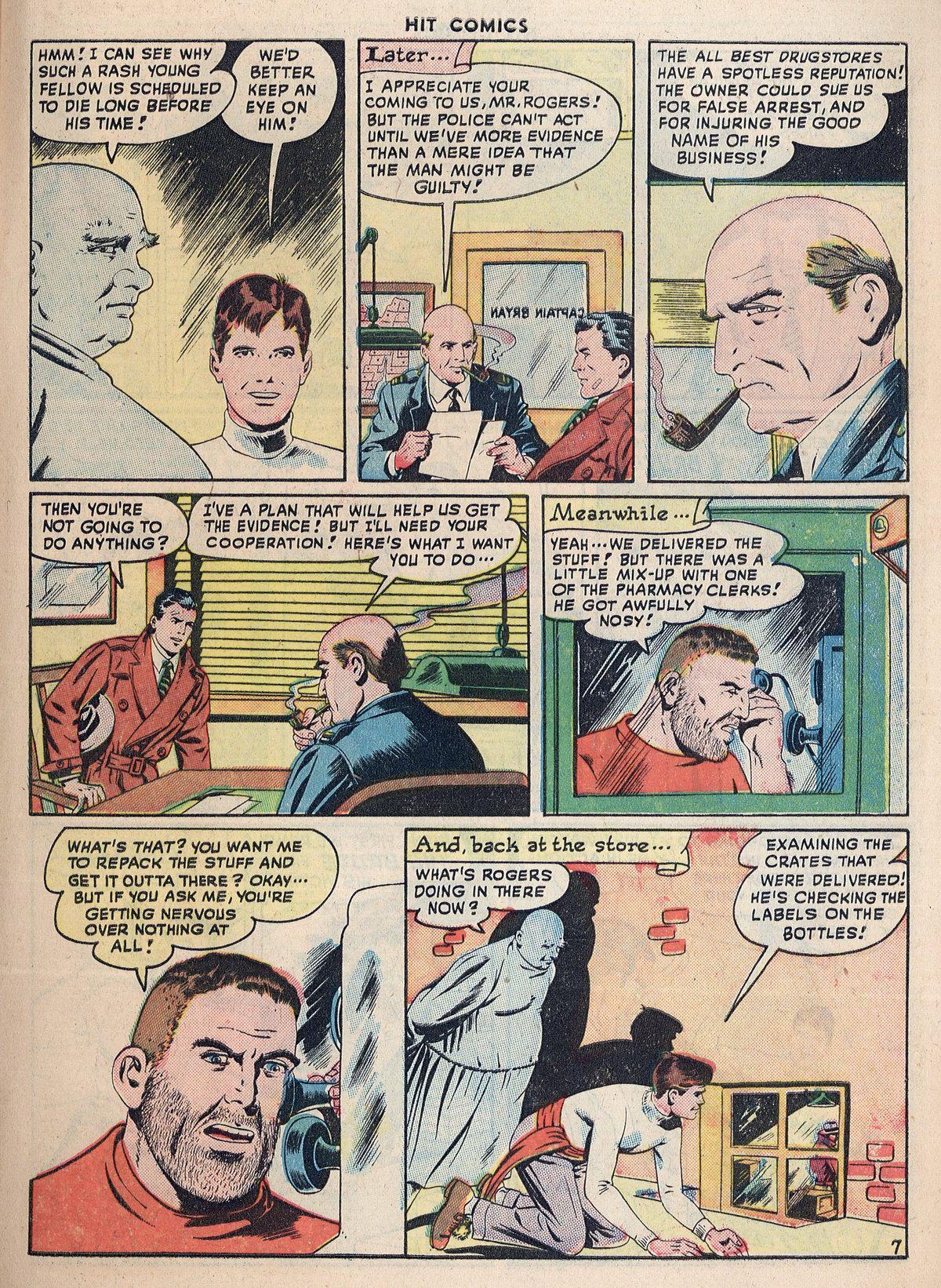 Read online Hit Comics comic -  Issue #55 - 9