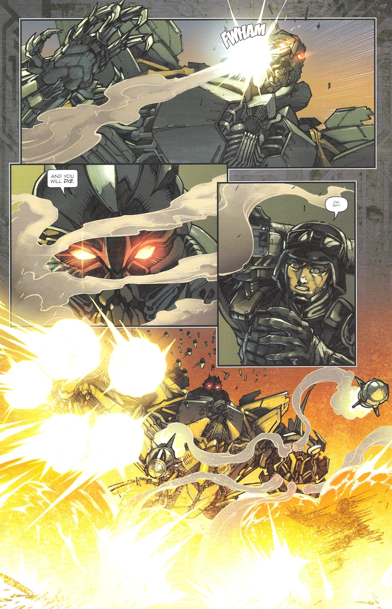 Read online Transformers: The Reign of Starscream comic -  Issue #2 - 4