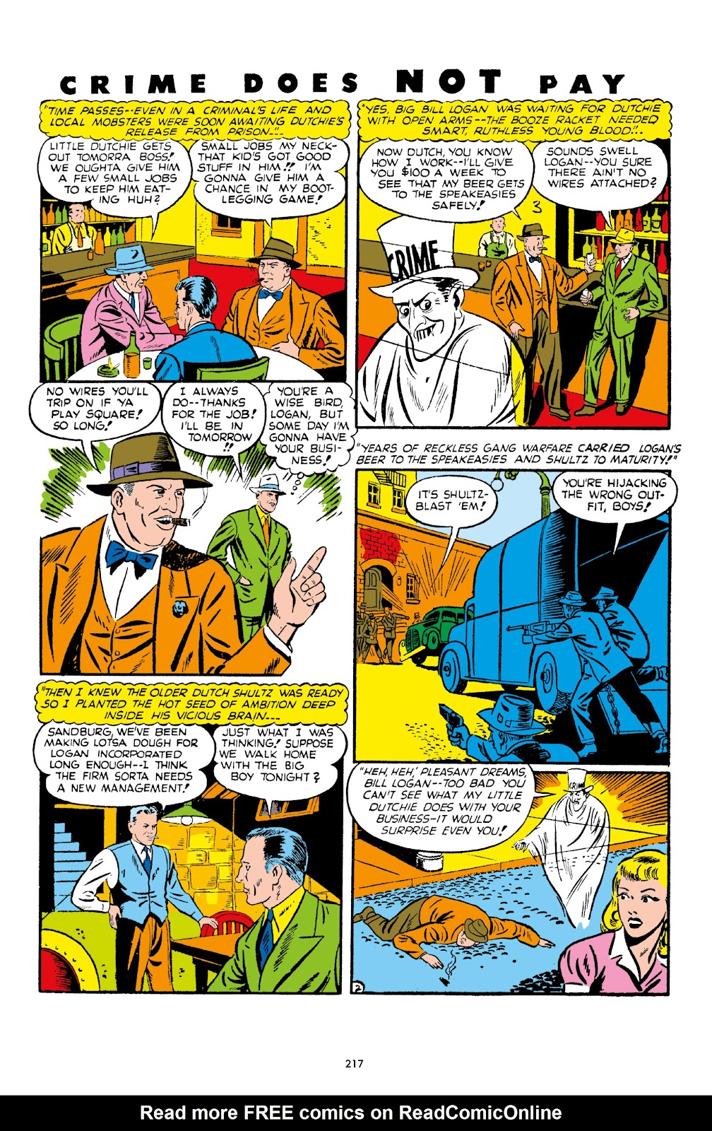Read online Crime Does Not Pay Archives comic -  Issue # TPB 1 (Part 3) - 20