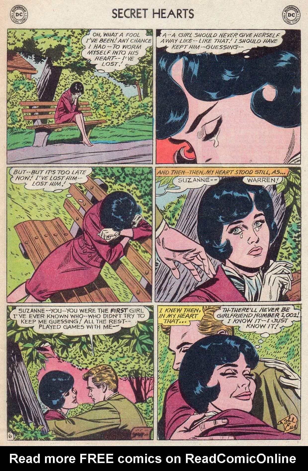 Read online Secret Hearts comic -  Issue #107 - 33