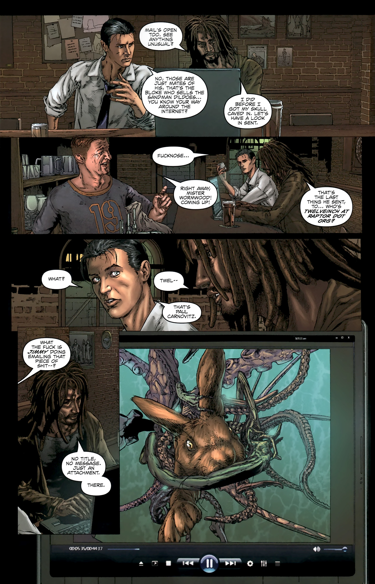Read online Chronicles of Wormwood: The Last Battle comic -  Issue #5 - 11