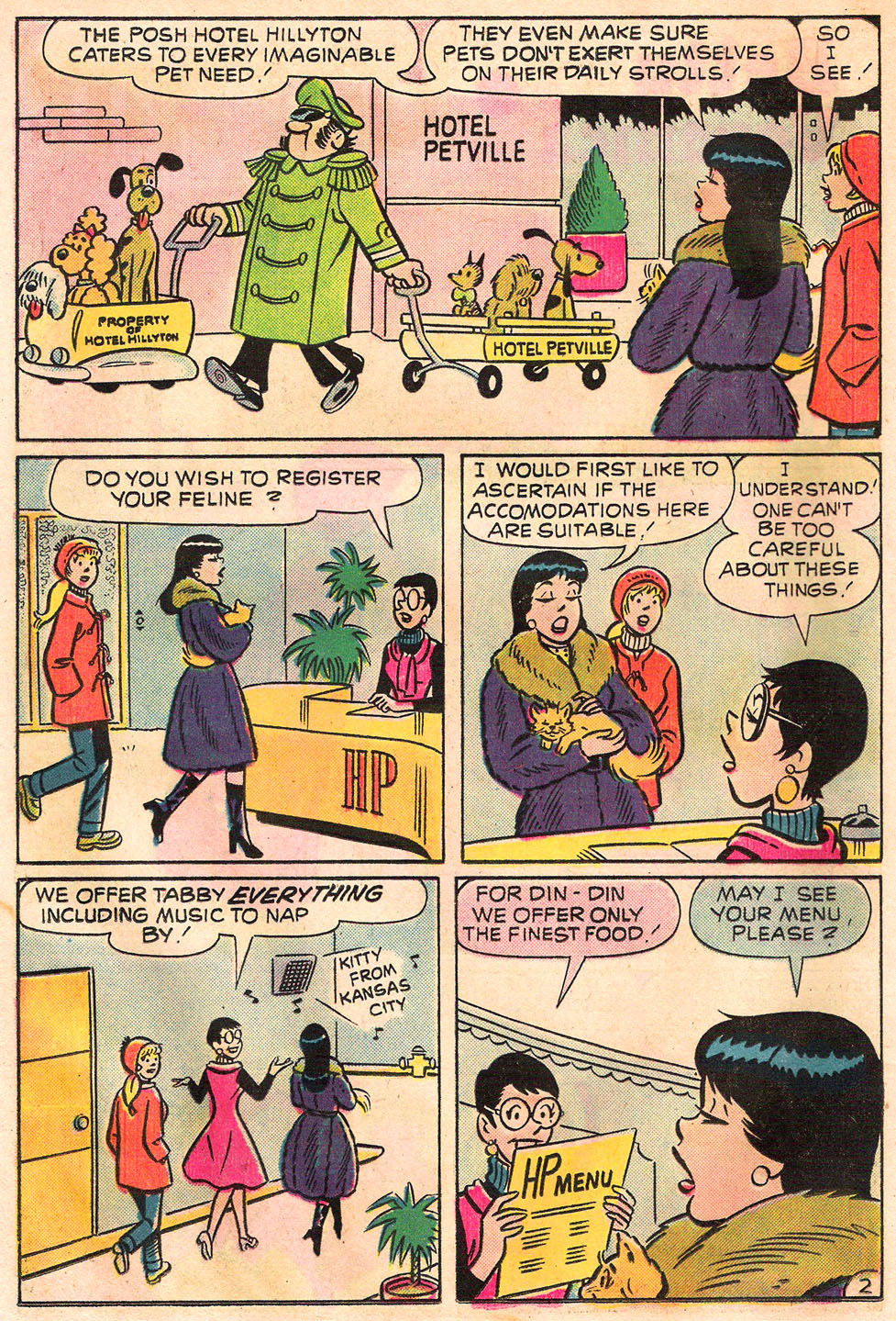 Read online Archie's Girls Betty and Veronica comic -  Issue #245 - 14