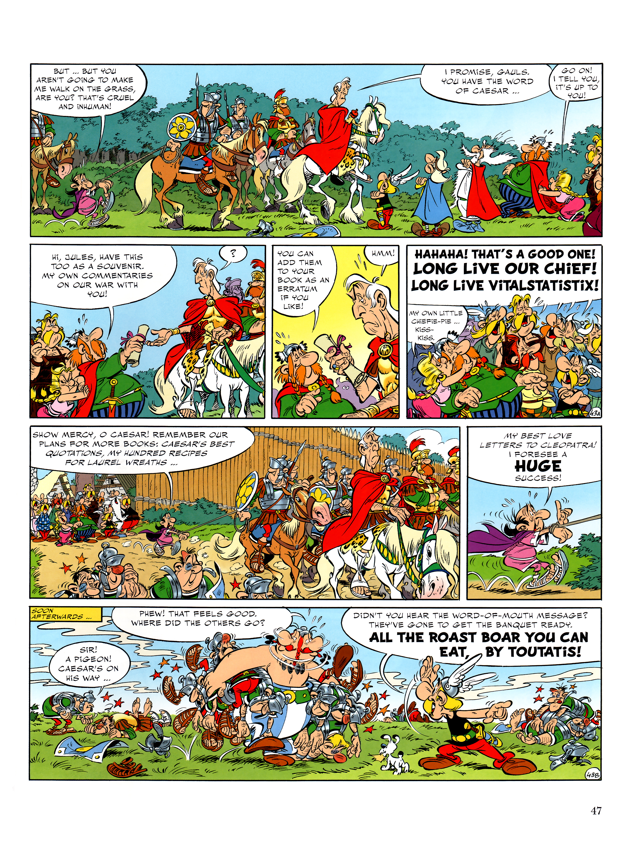 Read online Asterix comic -  Issue #36 - 48