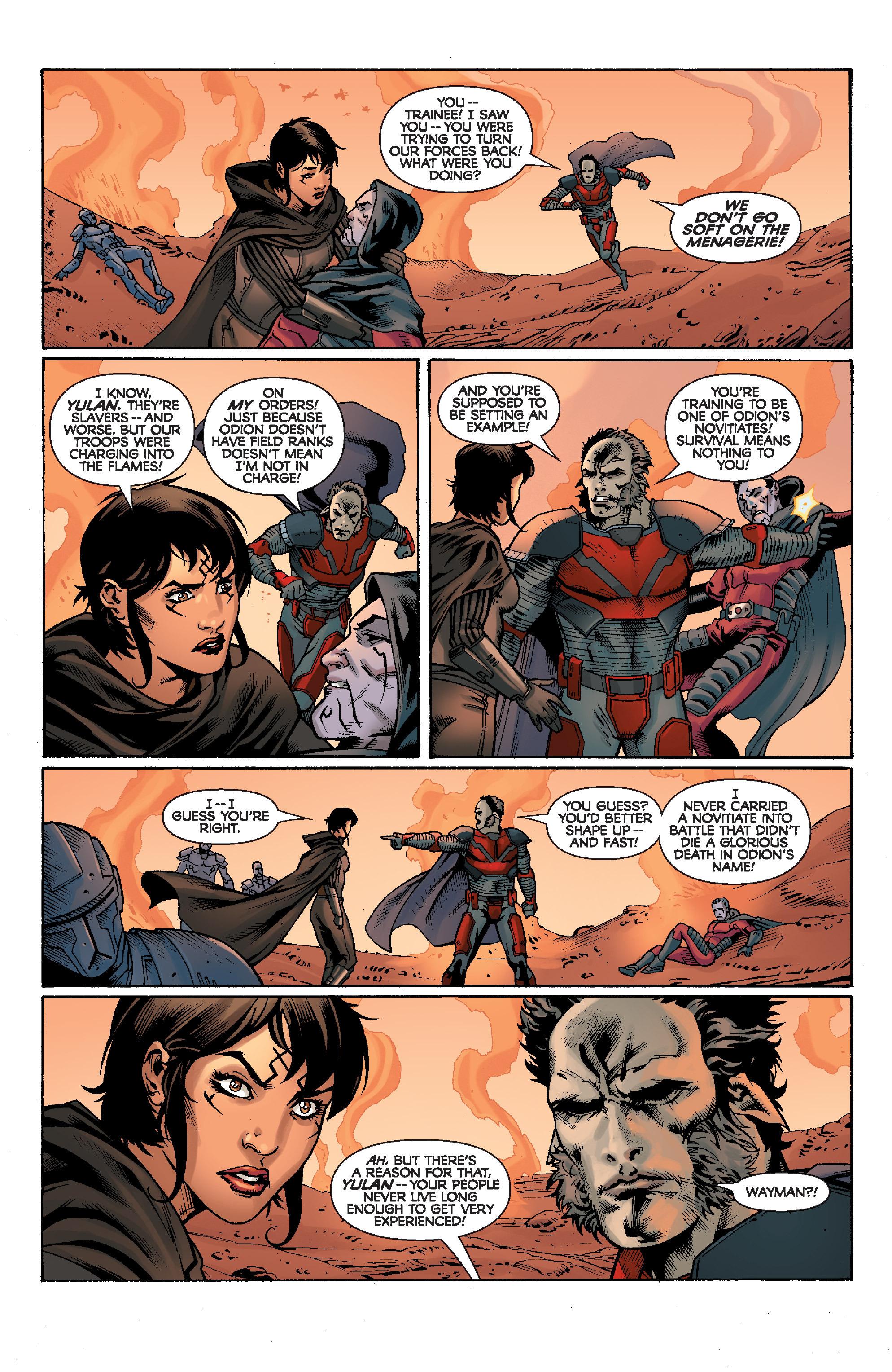 Read online Star Wars: Knight Errant - Escape comic -  Issue #1 - 14