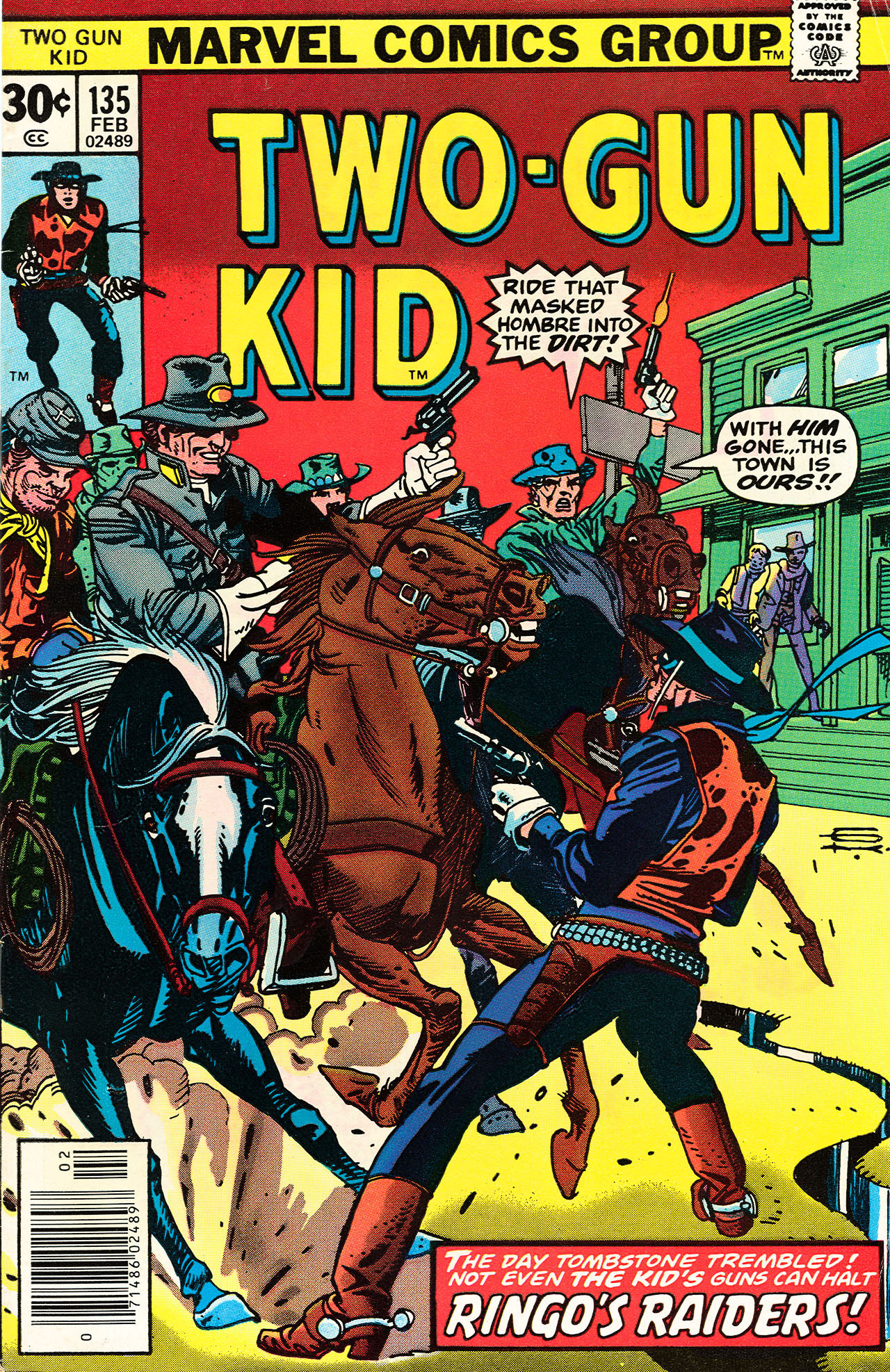 Read online Two-Gun Kid comic -  Issue #135 - 1