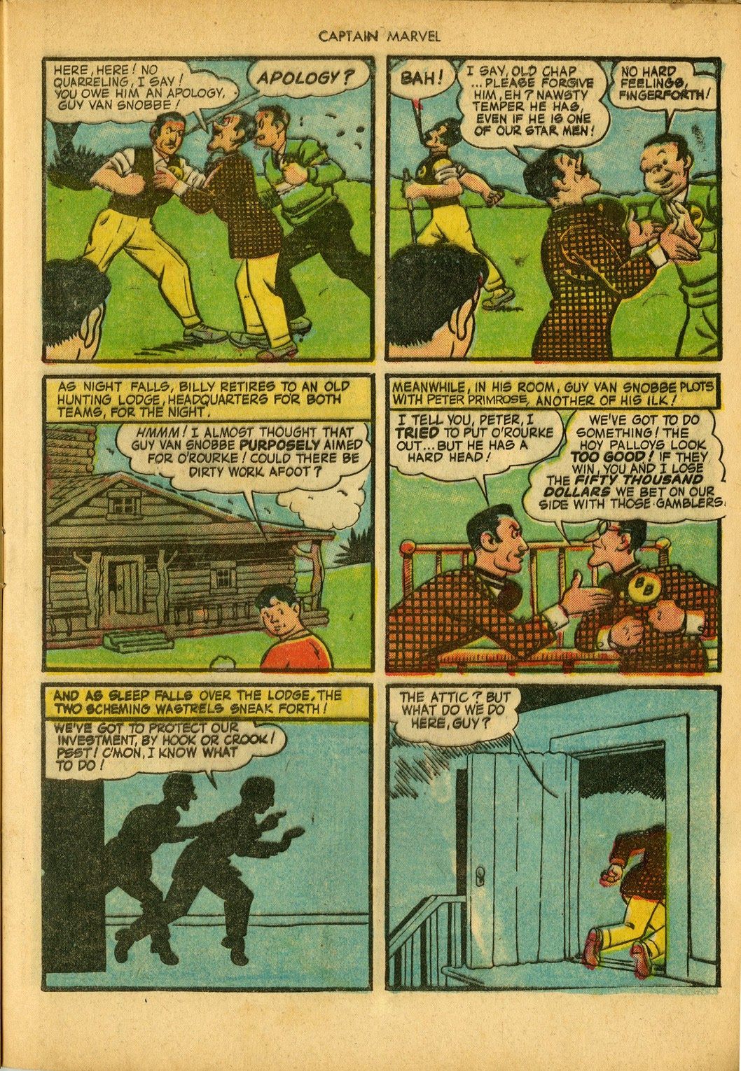 Captain Marvel Adventures issue 34 - Page 21