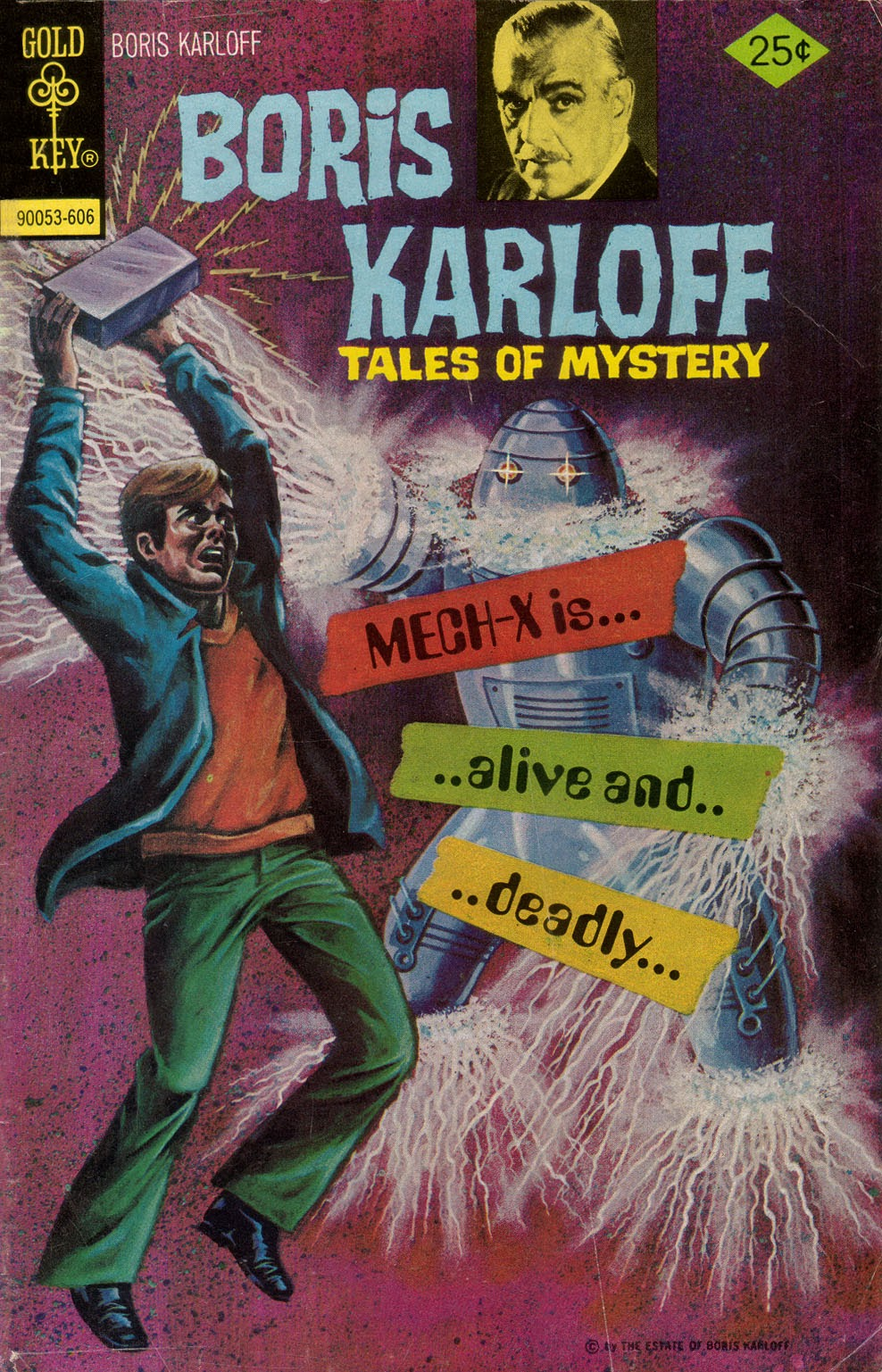 Boris Karloff Tales of Mystery issue 68 - Page 1
