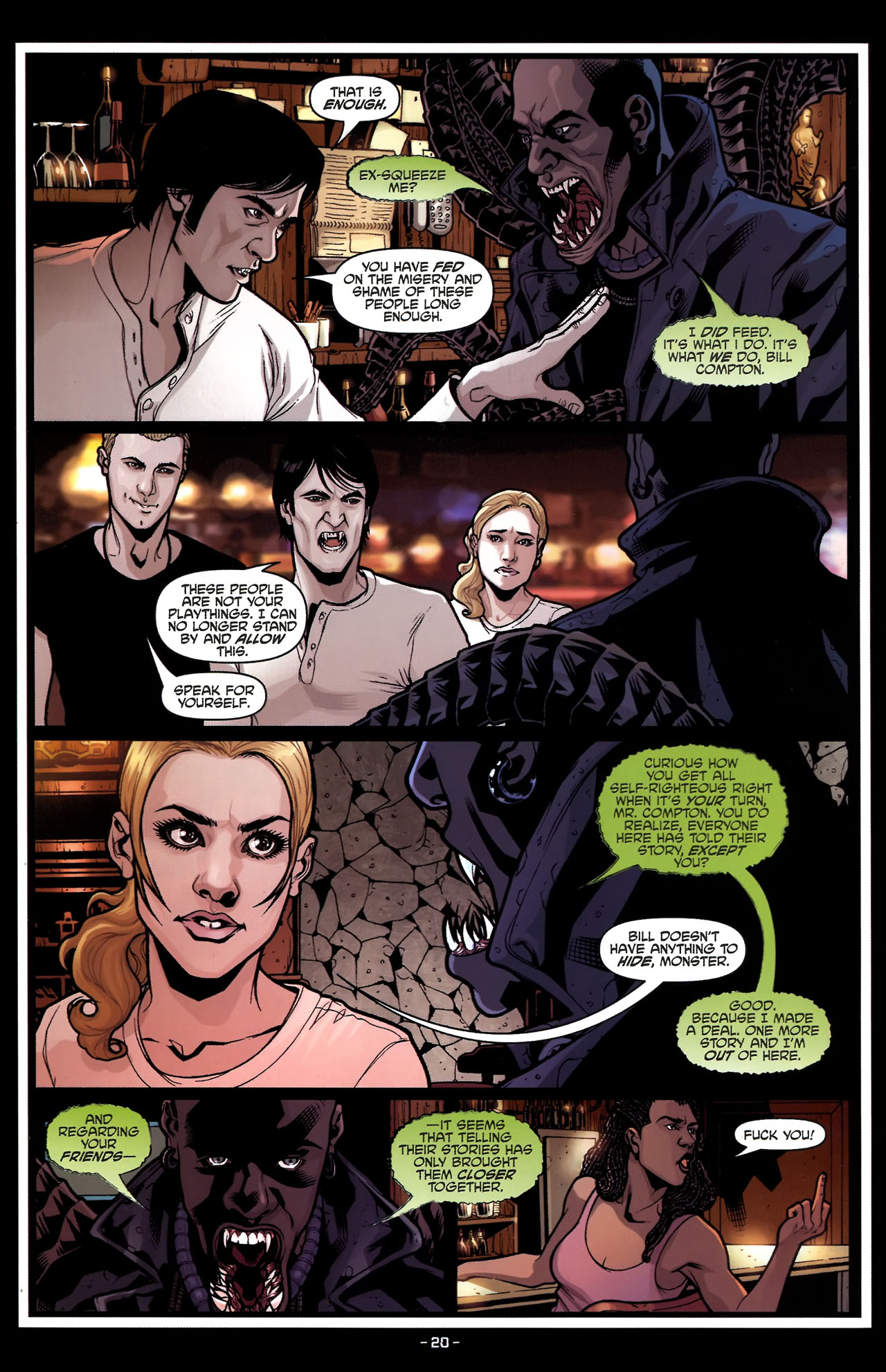 Read online True Blood (2010) comic -  Issue #5 - 23
