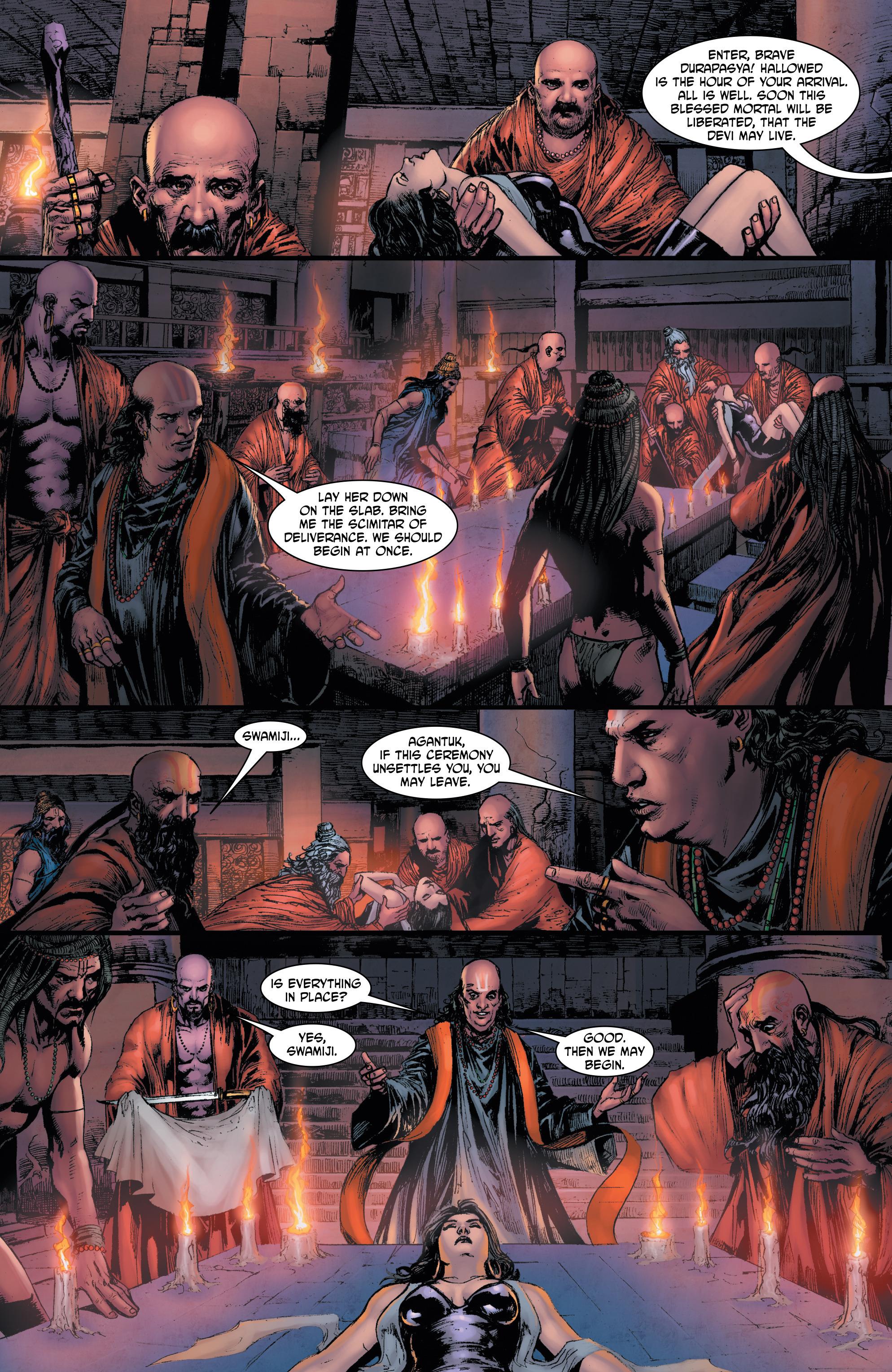 Read online Shekhar Kapur's Devi: Rebirth comic -  Issue #5 - 7