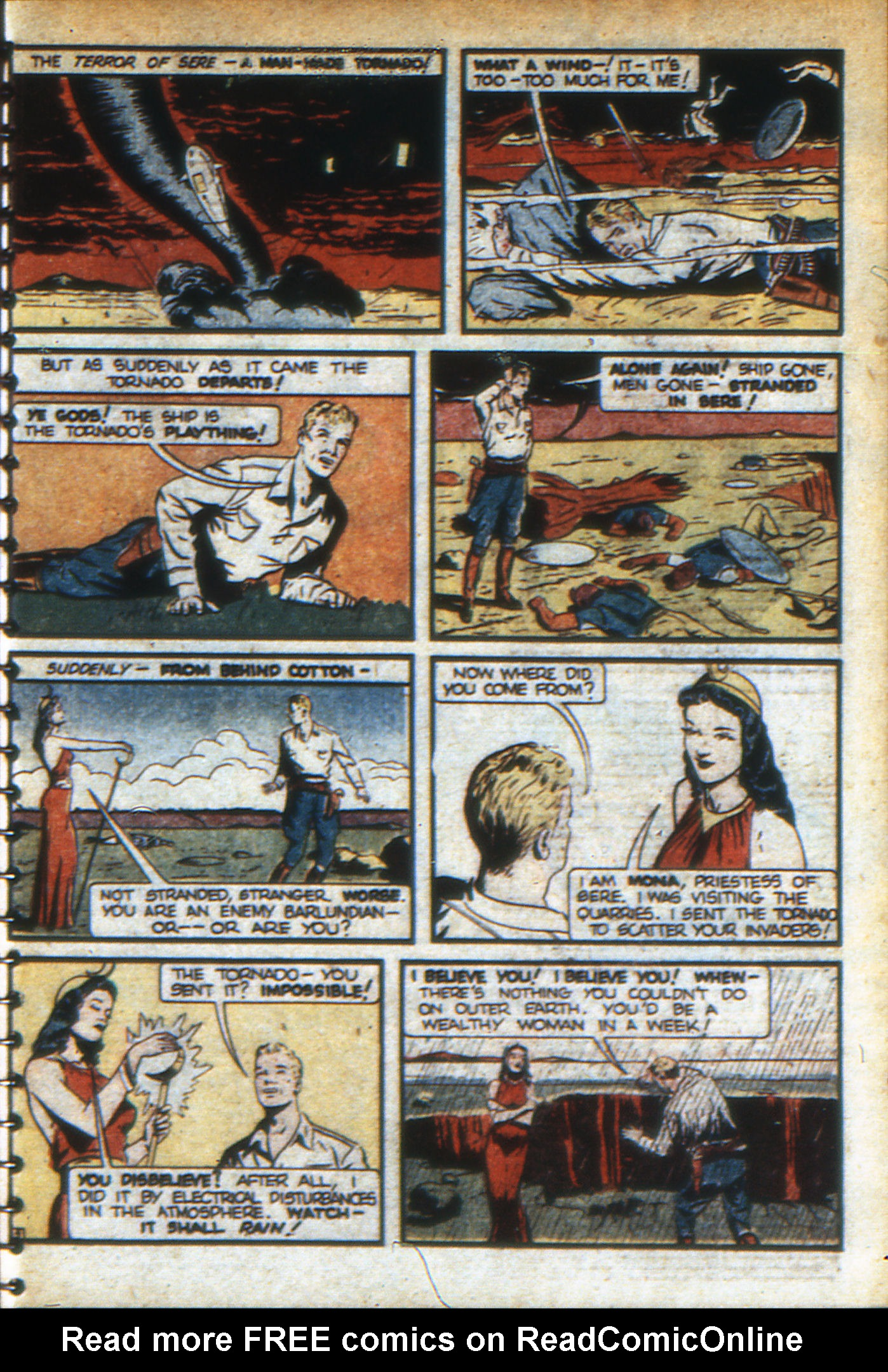 Read online Adventure Comics (1938) comic -  Issue #46 - 64