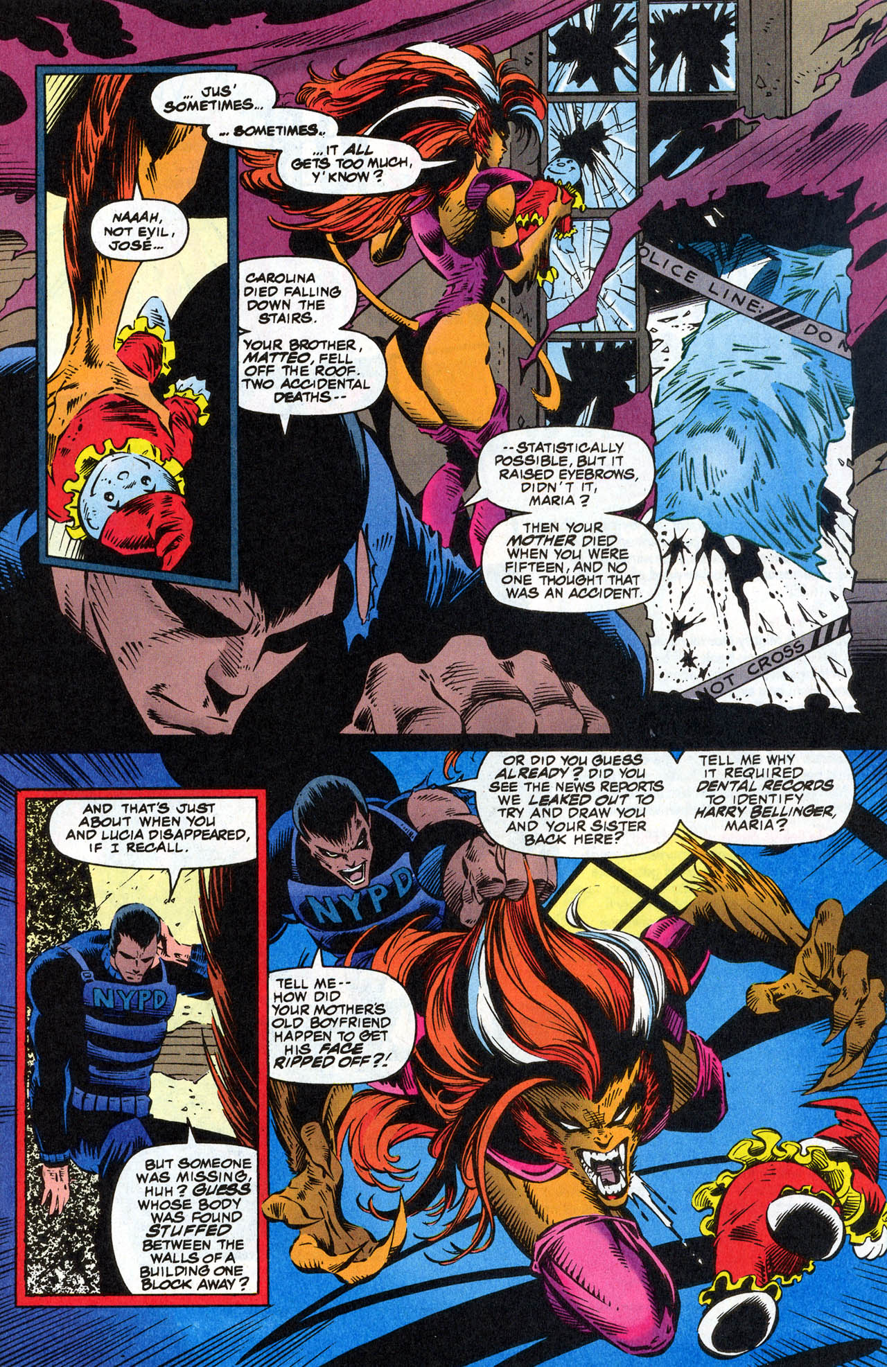 Read online X-Force (1991) comic -  Issue #41 - 11