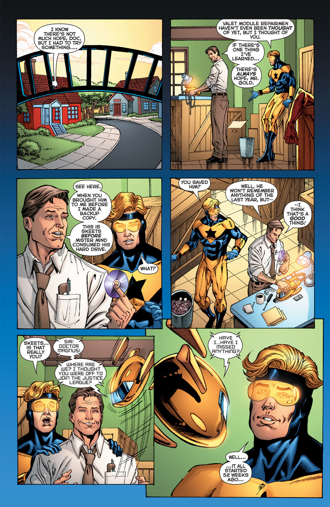 Read online 52 comic -  Issue #52 - 37