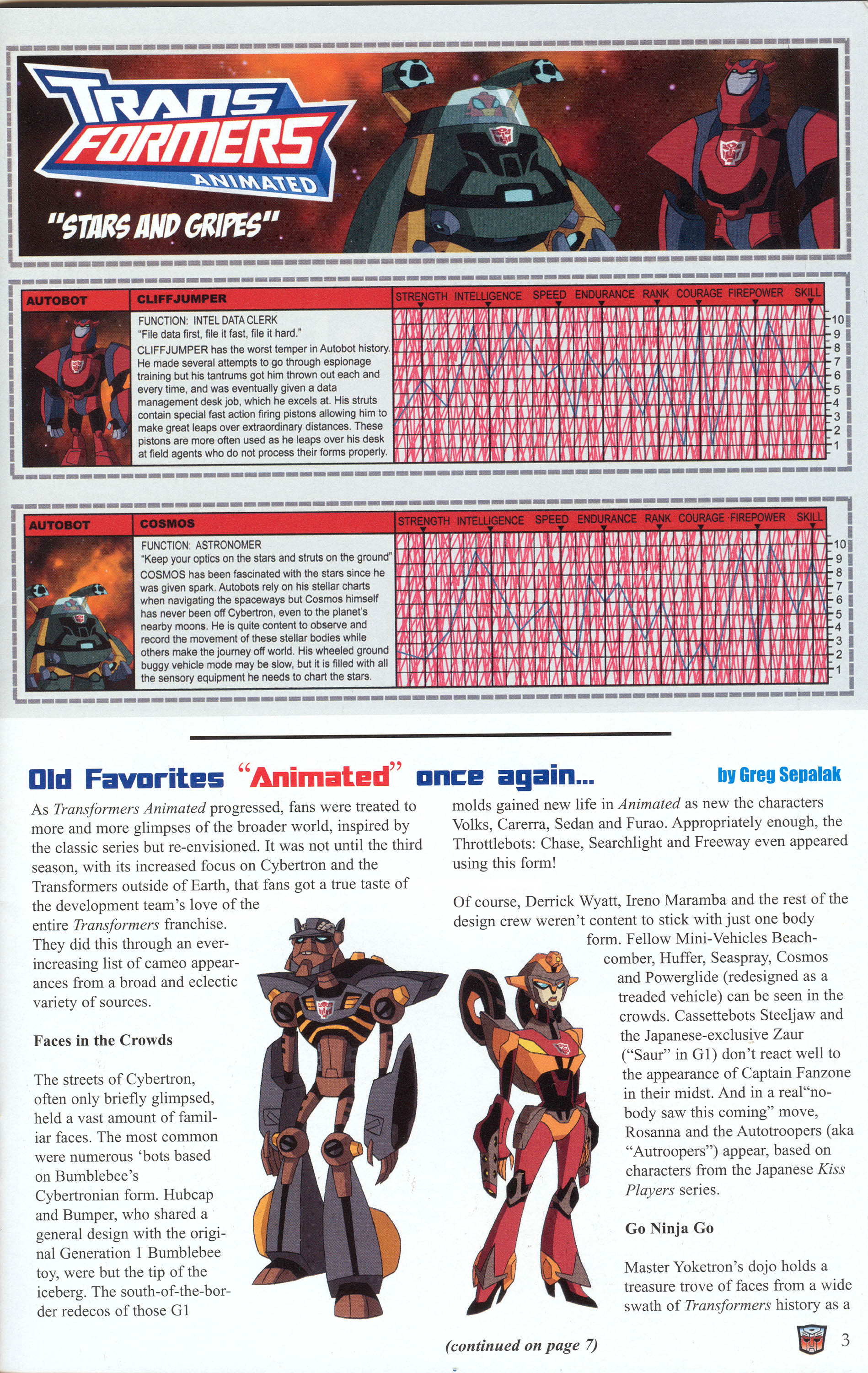 Read online Transformers: Collectors' Club comic -  Issue #30 - 3