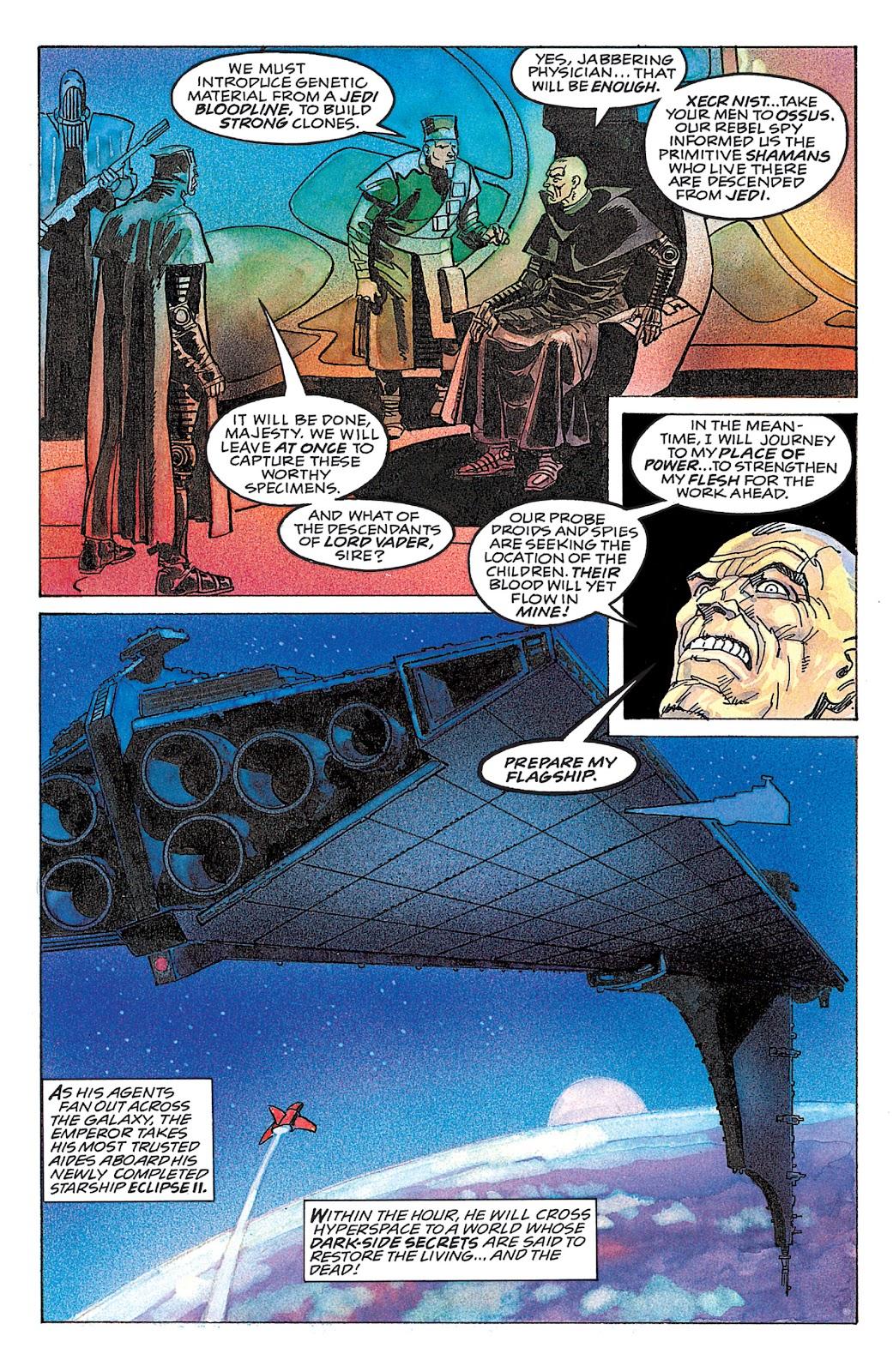 Read online Star Wars: Dark Empire Trilogy comic -  Issue # TPB (Part 4) - 24