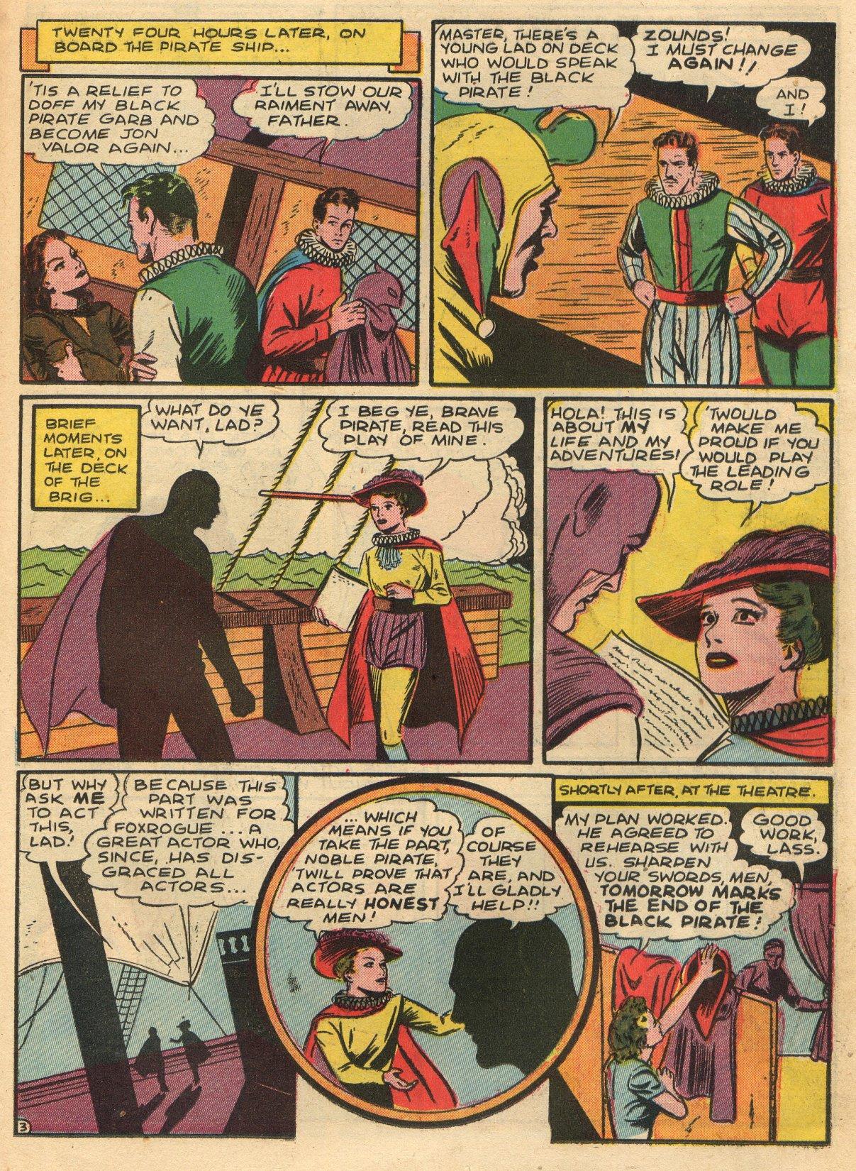 Read online Sensation (Mystery) Comics comic -  Issue #22 - 19