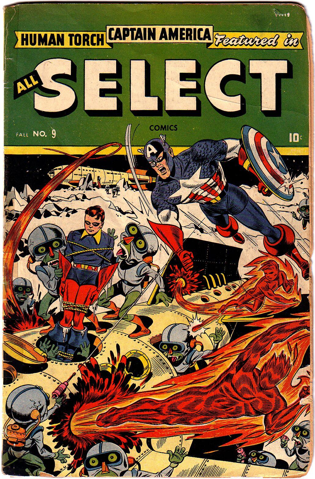 All-Select Comics 9 Page 1