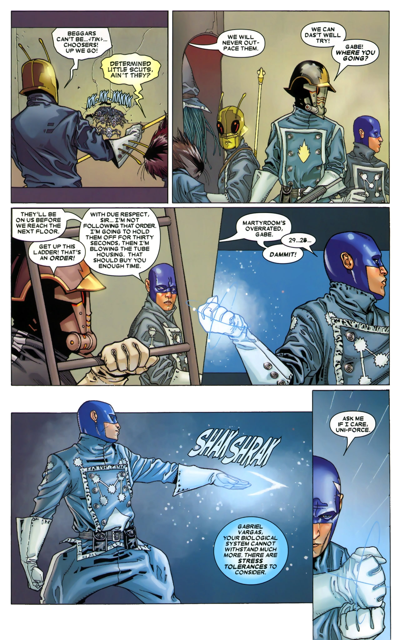 Read online Annihilation: Conquest - Starlord comic -  Issue #3 - 18