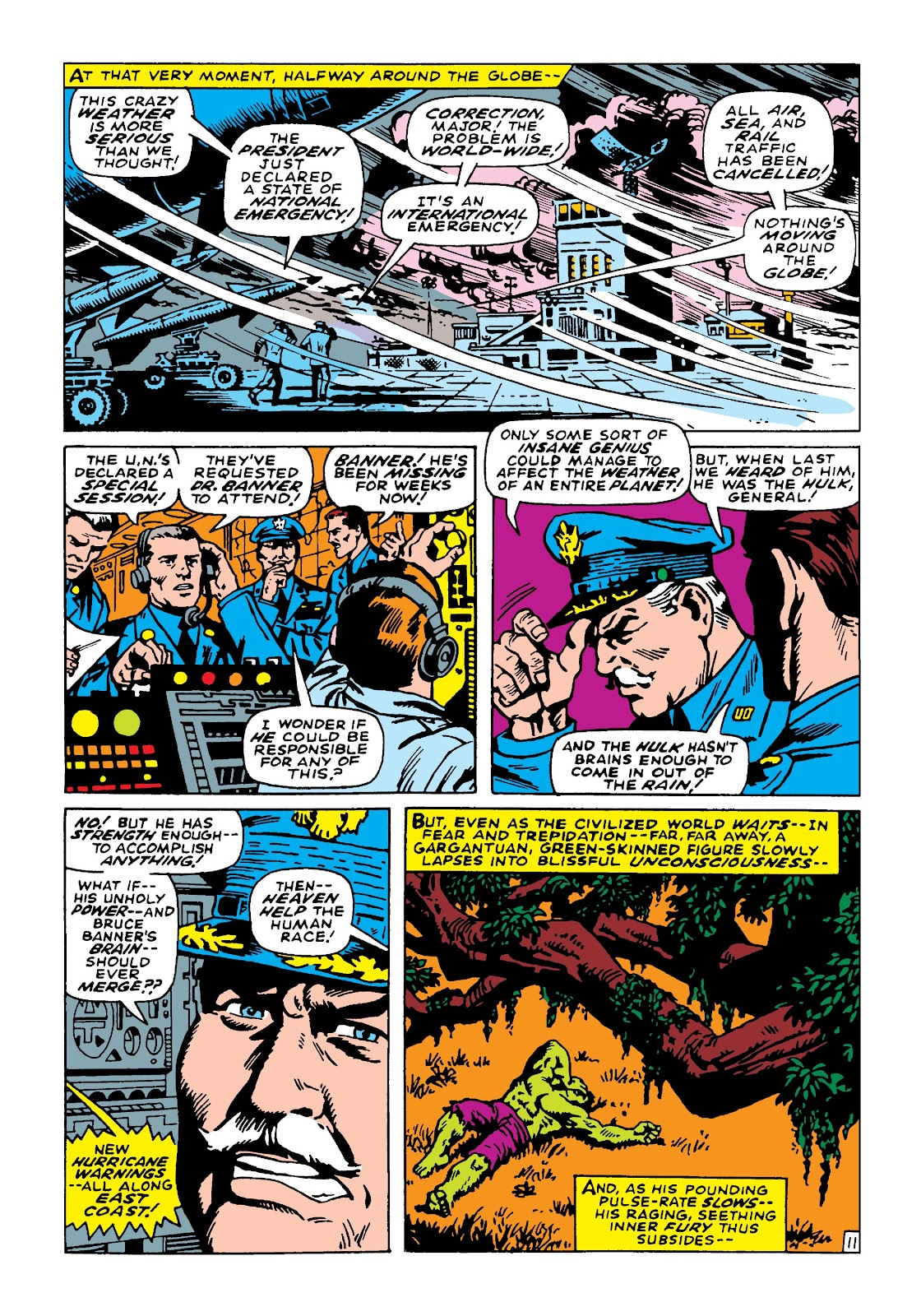 Read online Marvel Masterworks: The Incredible Hulk comic -  Issue # TPB 4 (Part 2) - 97
