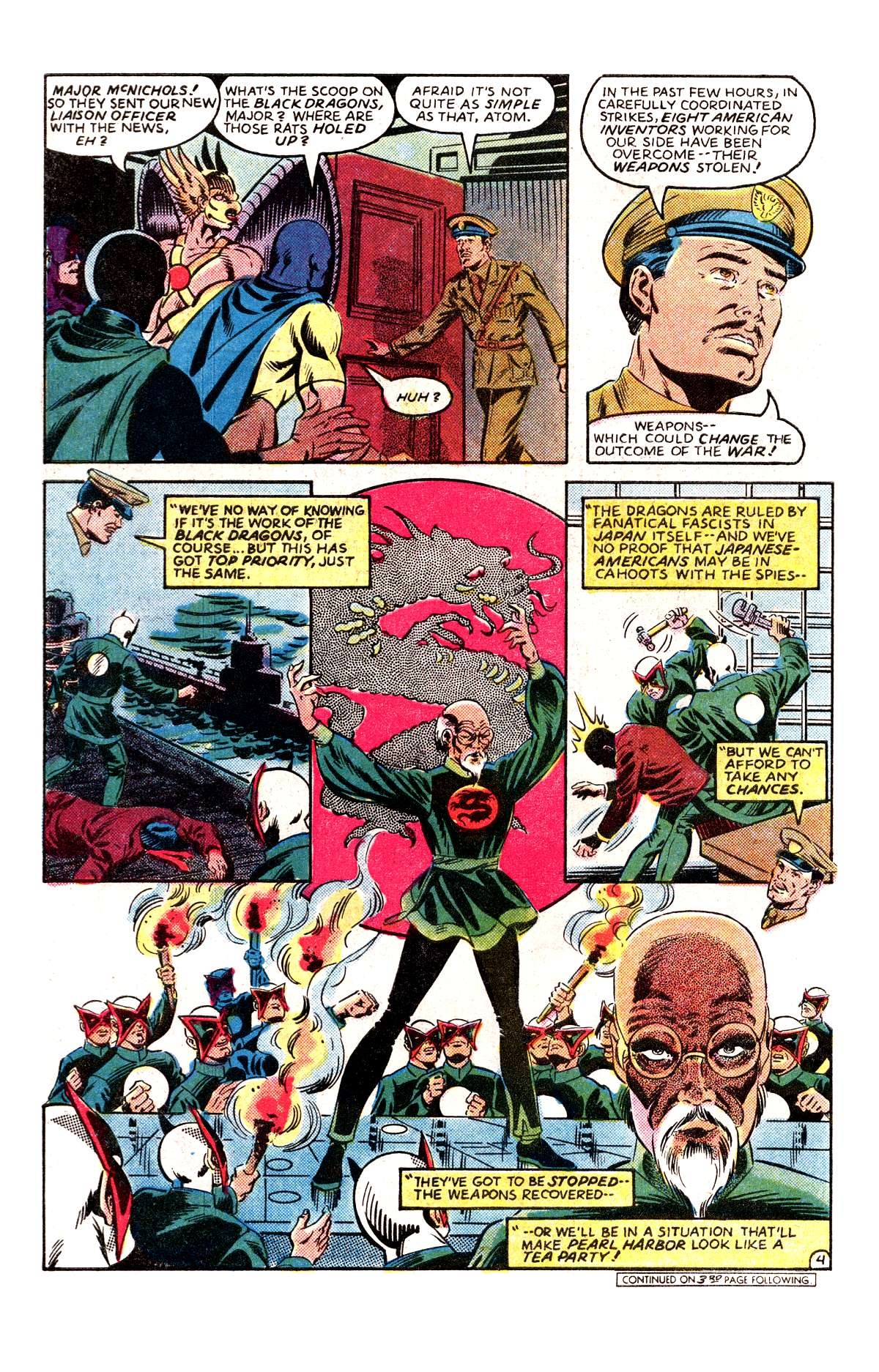 Read online All-Star Squadron comic -  Issue #30 - 5