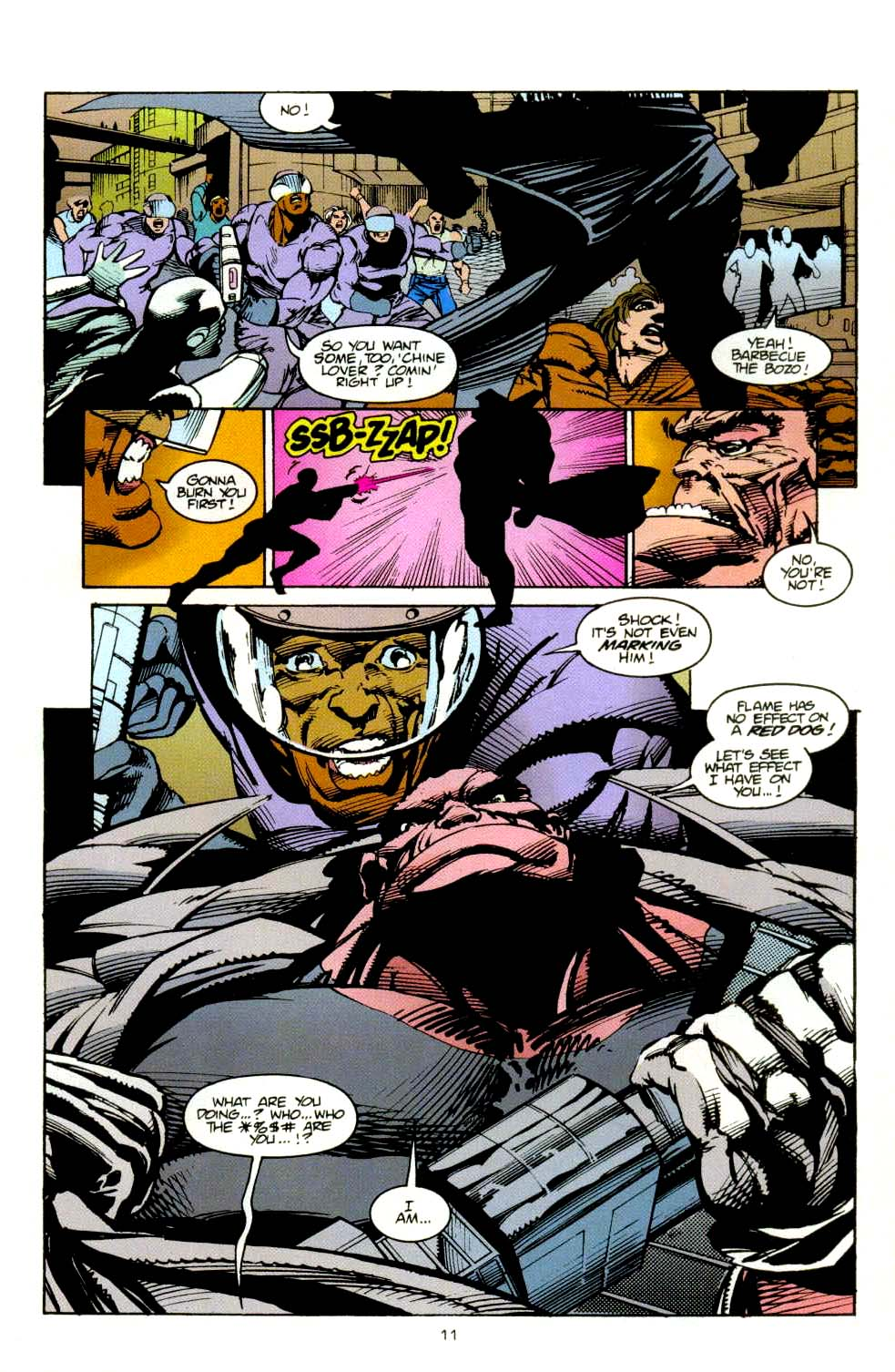 Read online 2099 Unlimited comic -  Issue #8 - 11