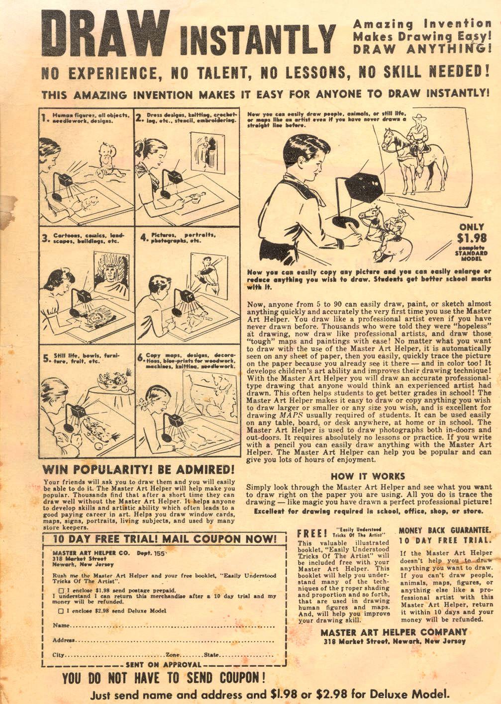 Read online Adventure Comics (1938) comic -  Issue #186 - 2